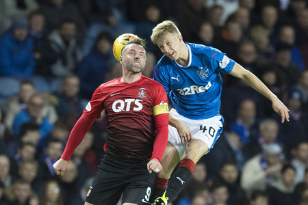 Ross McCrorie has earned a call-up
