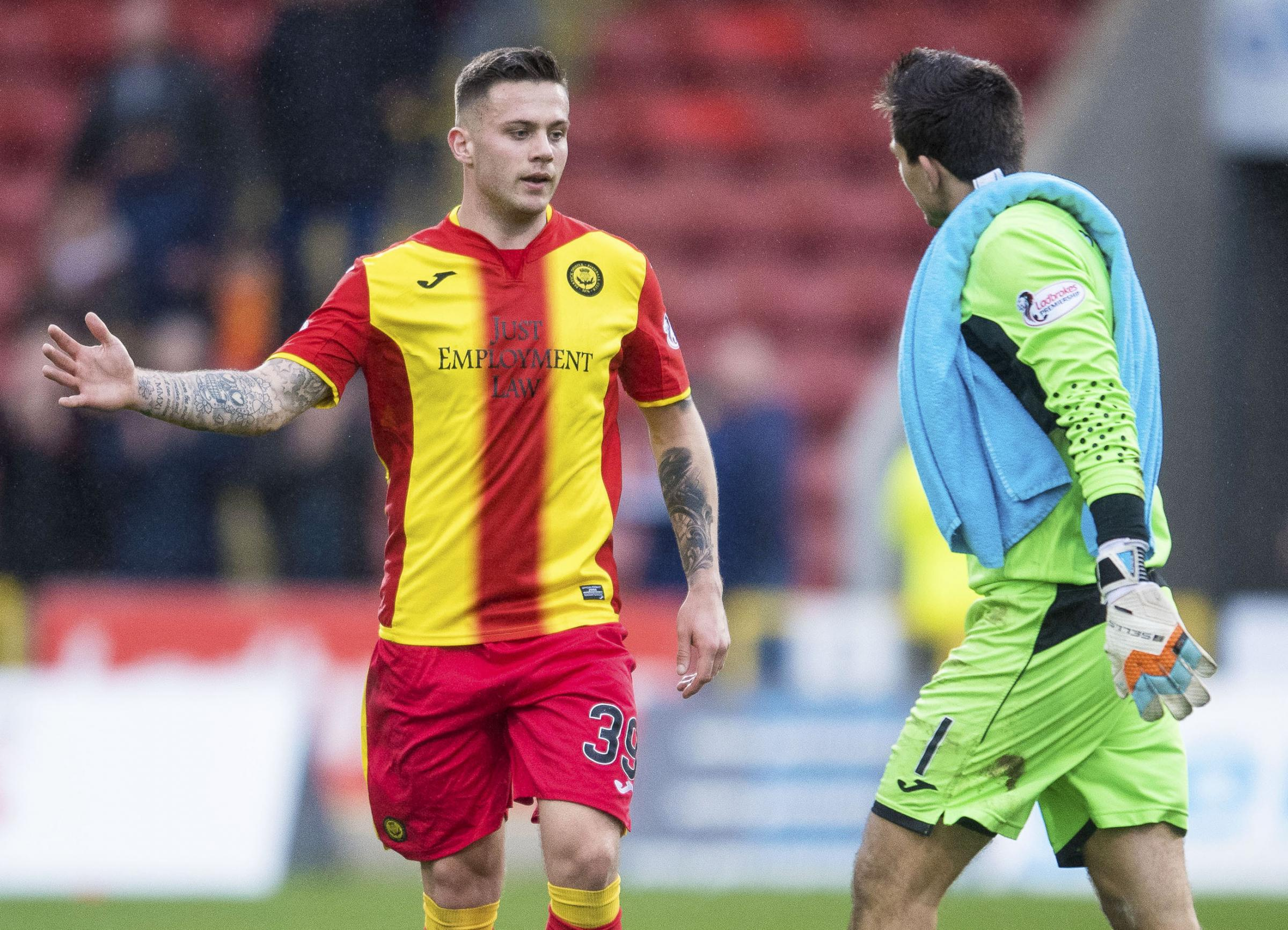 Miles Storey has now got two goals in his last three games for Partick Thistle.