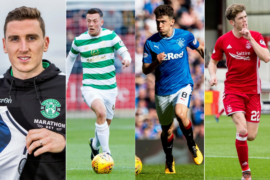 Eight players could be set for Scotland debuts