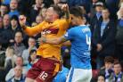 Cardoso suffered a broken nose against Motherwell