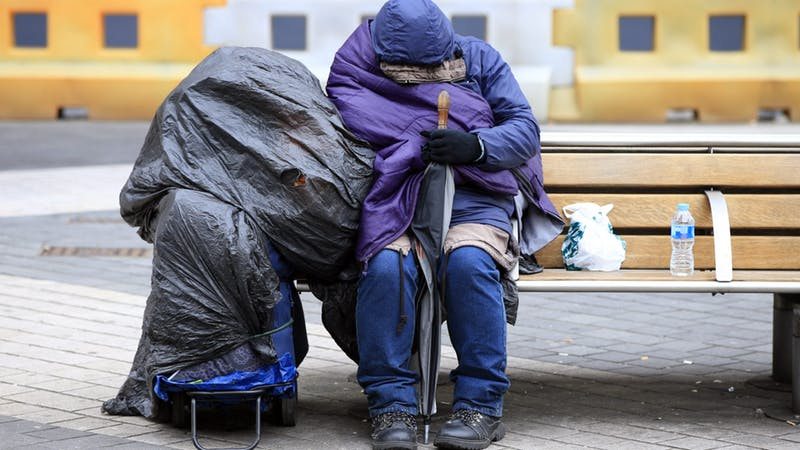 Mass sleepout event aims to get homeless people into permanent housing