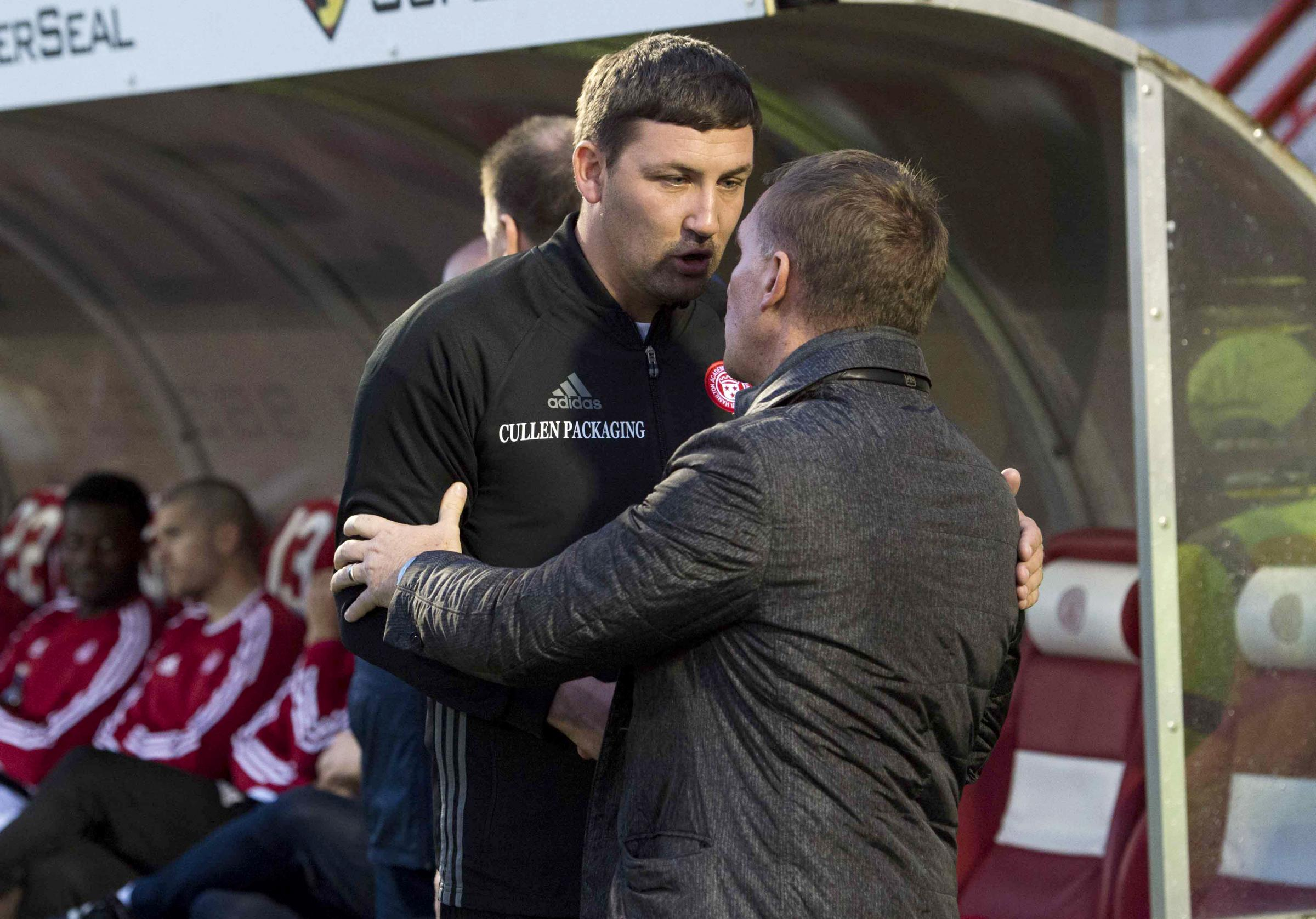 Martin Canning expressed sympathy for Brendan Rodgers after watching his own side blow games through avoidable mistakes.