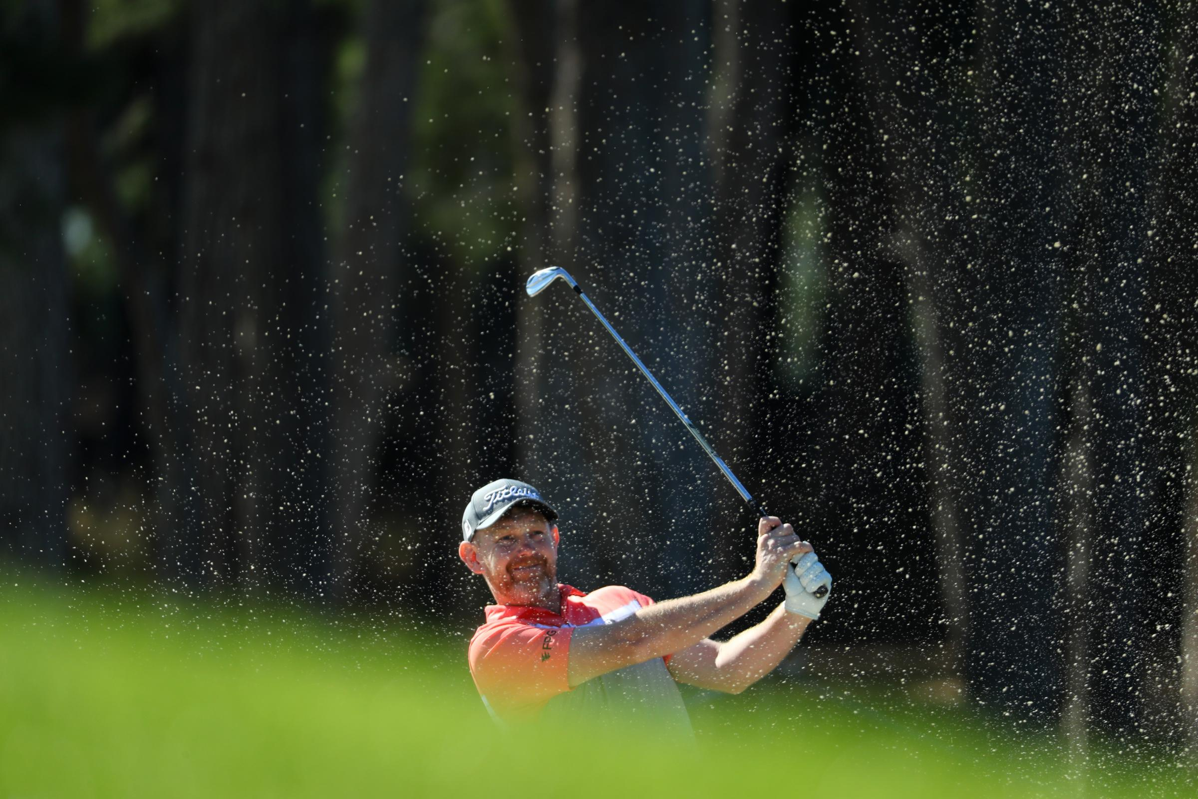 Going fourth: Stephen Gallacher moved into a share of fourth in the Turkish Airlines Open (Picture: Getty)