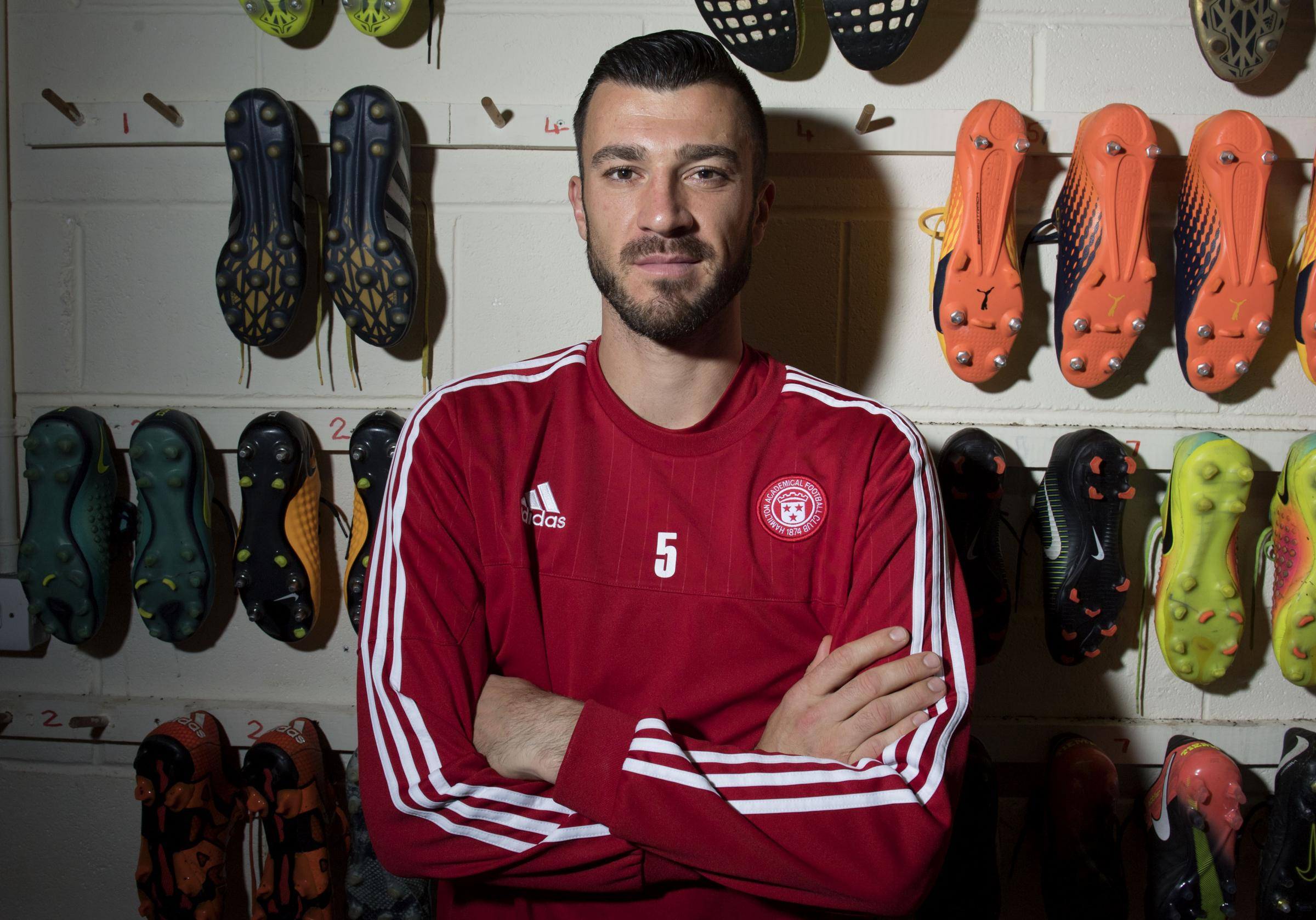 Xavier Tomas is looking forward to making Aberdeen's visit to Hamilton another uncomfortable one for the Dons.