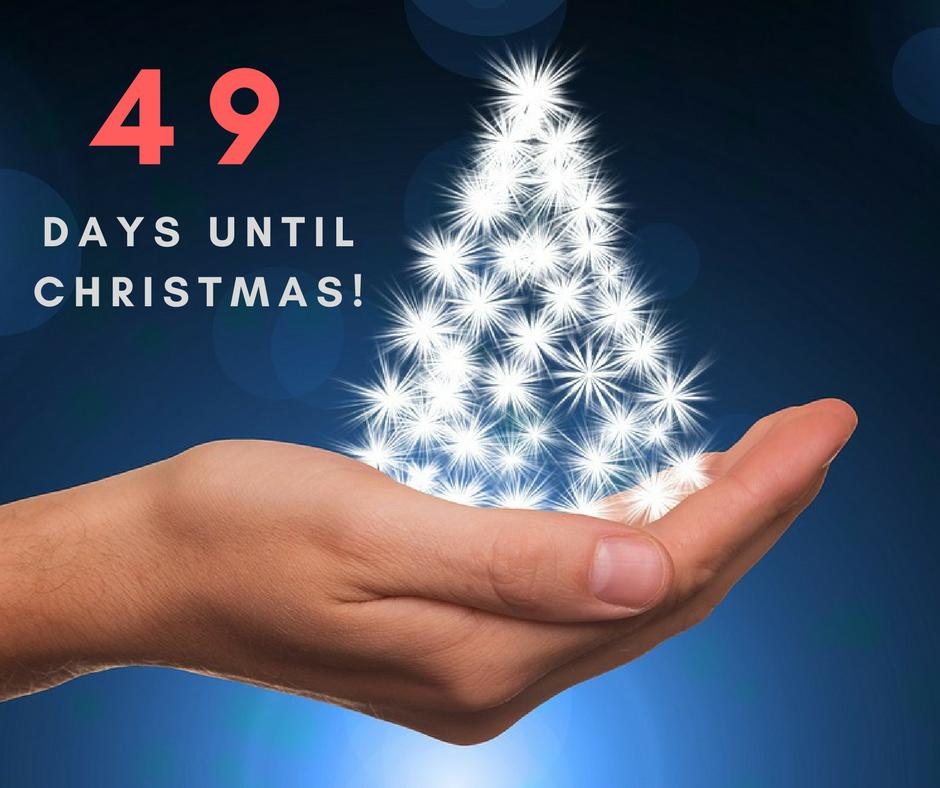 Days Until Christmas.49 Days Until Christmas How Prepared Are You For The Big