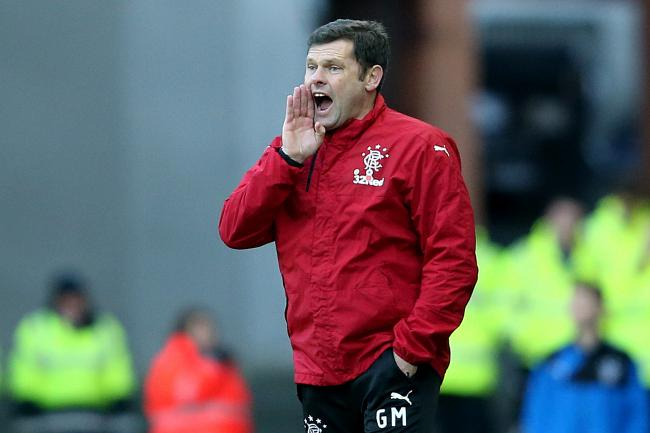 Graeme Murty insists results rather than rhetoric will get him the Rangers job