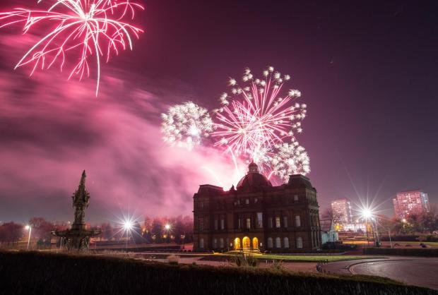 Evening Times: The Glasgow Green fireworks display always proves a hit