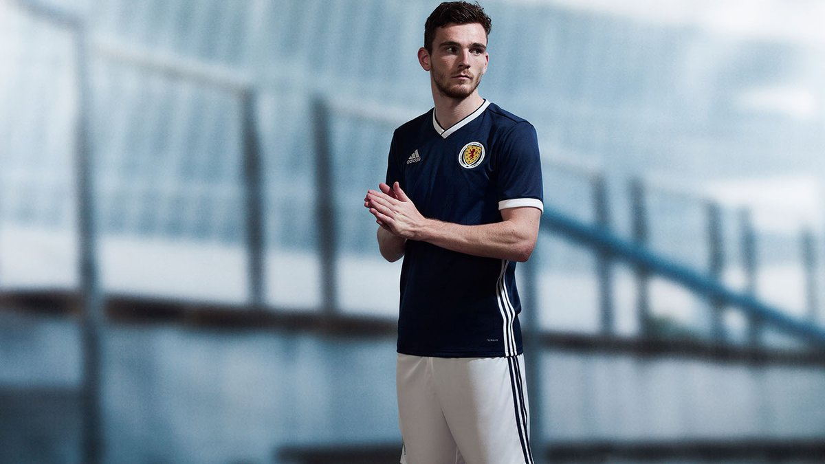 The new Scotland home kit (Image via @ScottishFA)