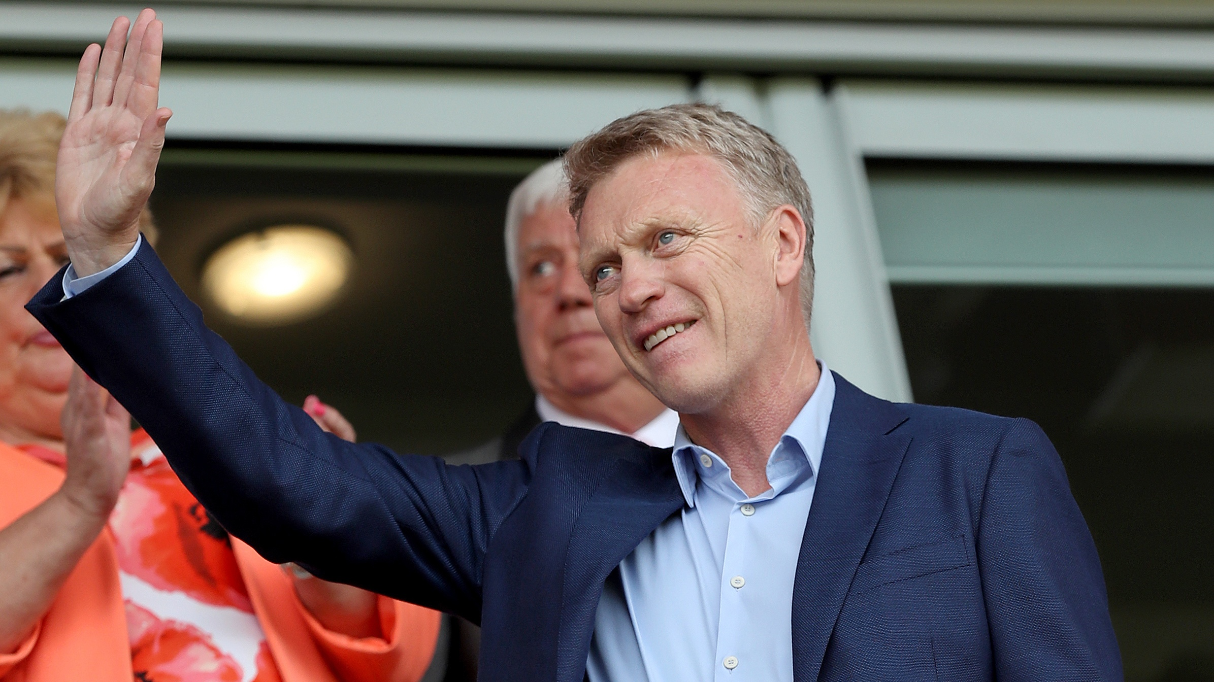 Moyes has almost a fortnight to get to know his new players, with his first match in charge at Watford on November 19.