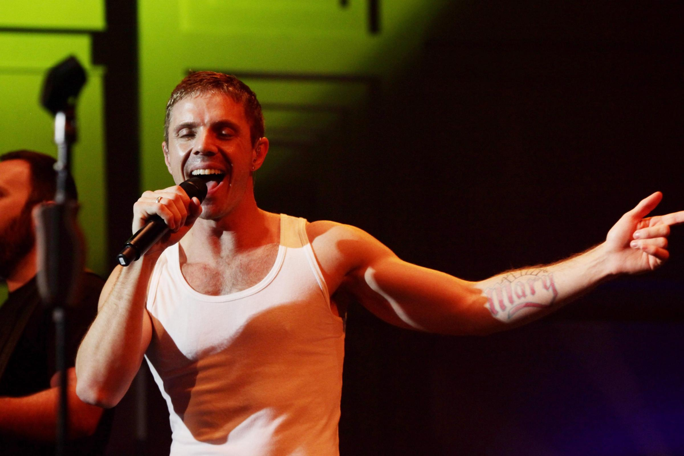 Jake Shears (Yui Mok/PA)