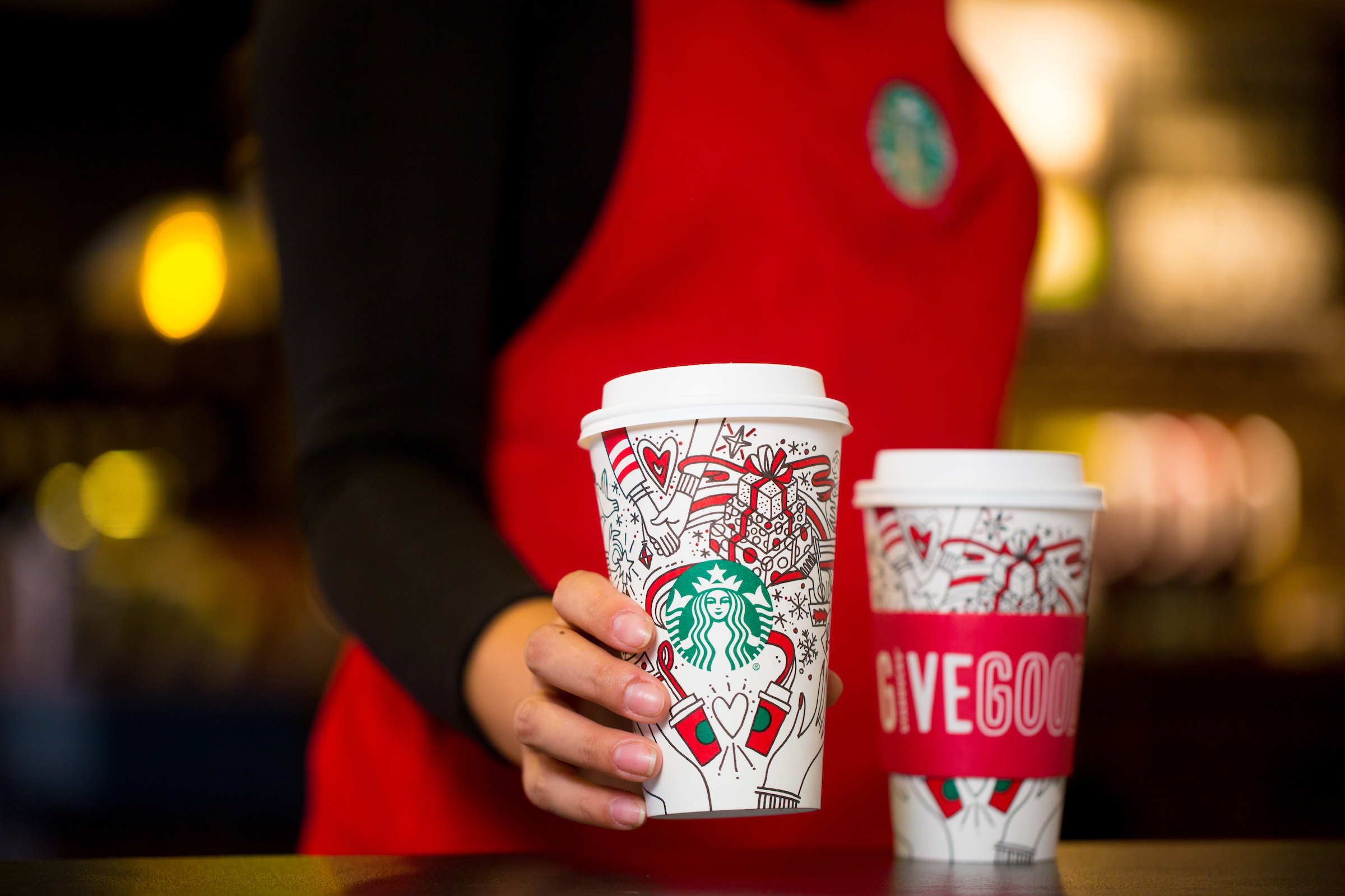 Starbucks launches buy-one-get-one-free event on all festive drinks this week
