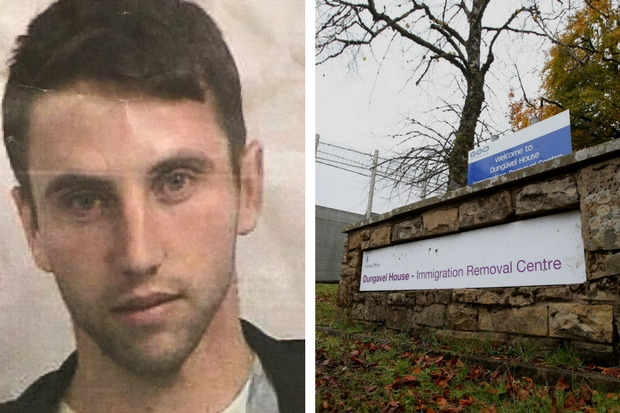 Have you seen him? Cops continue search for man missing from Dungavel Immigration Centre