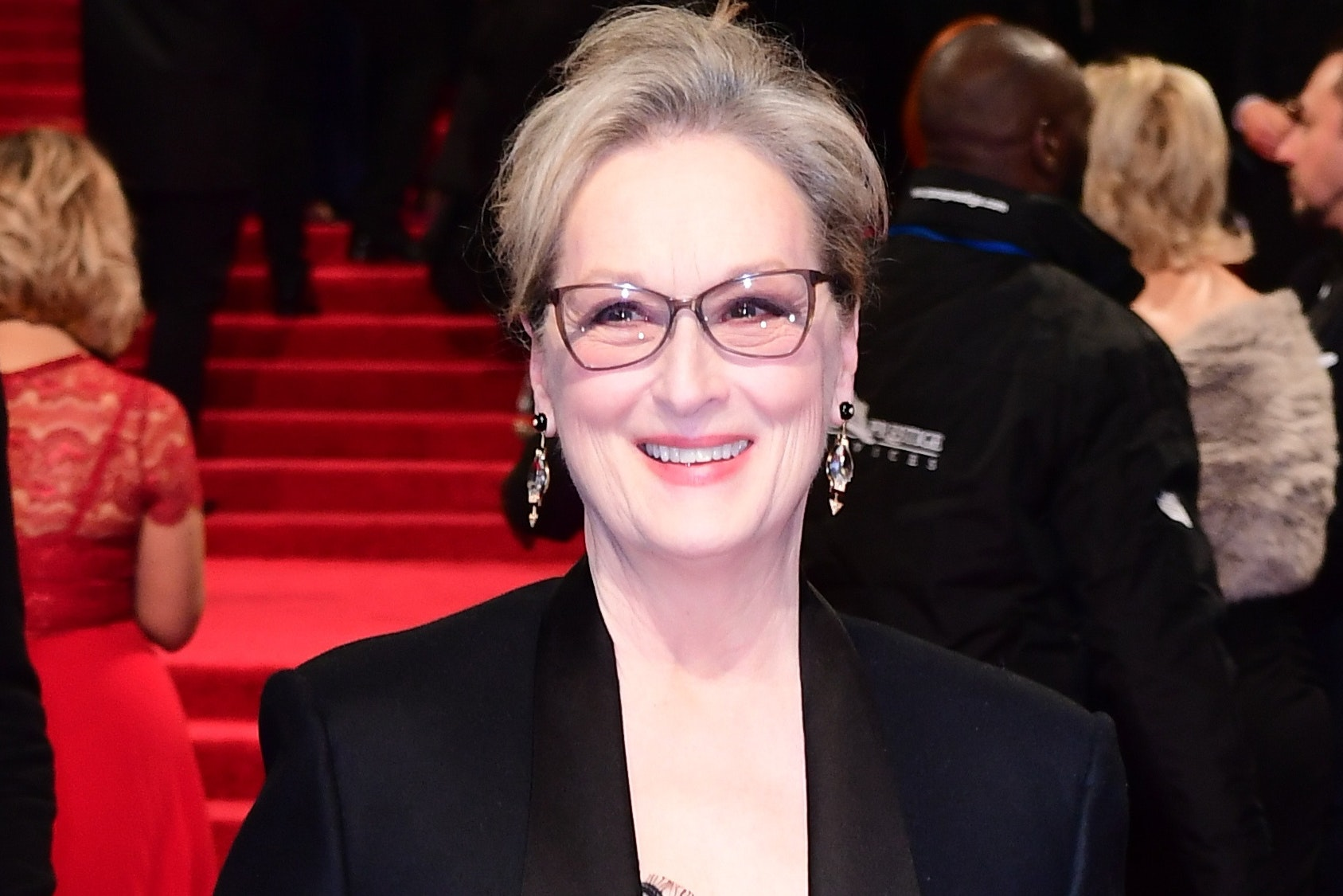 Meryl Streep said the Weinstein scandal is all she talks about with her daughters (Ian West/PA)