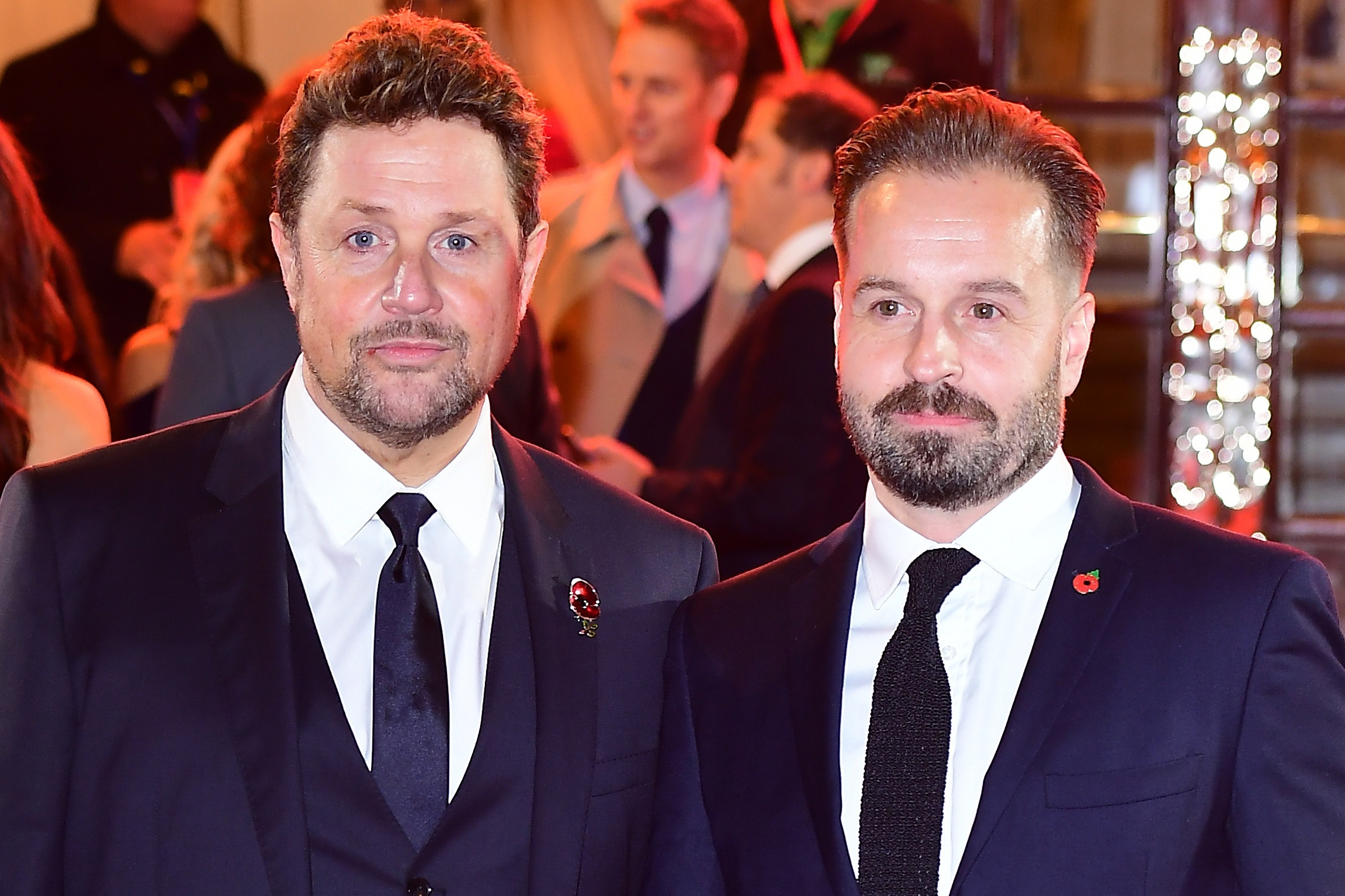 Michael Ball and Alfie Boe muse over Downton Abbey musical (Ian West/PA)