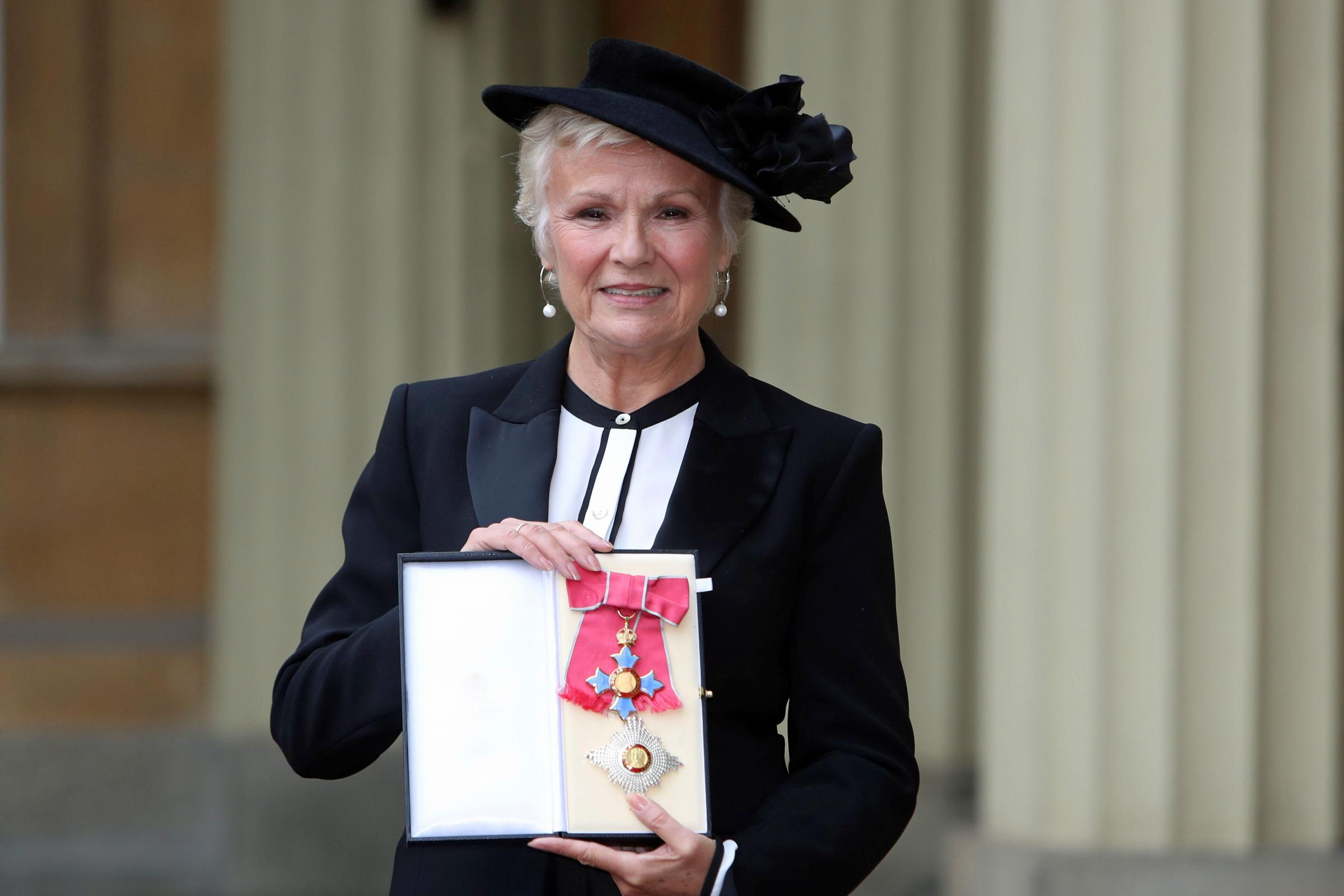 Dame Julie Walters was made a Dame Commander earlier this week (Steve Parsons/PA)