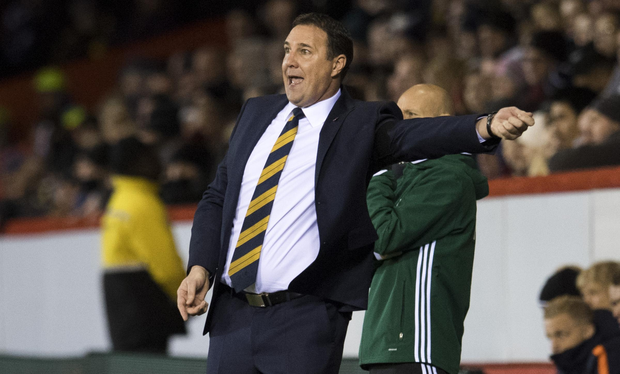 Malky Mackay appears set to have just one game in charge of Scotland