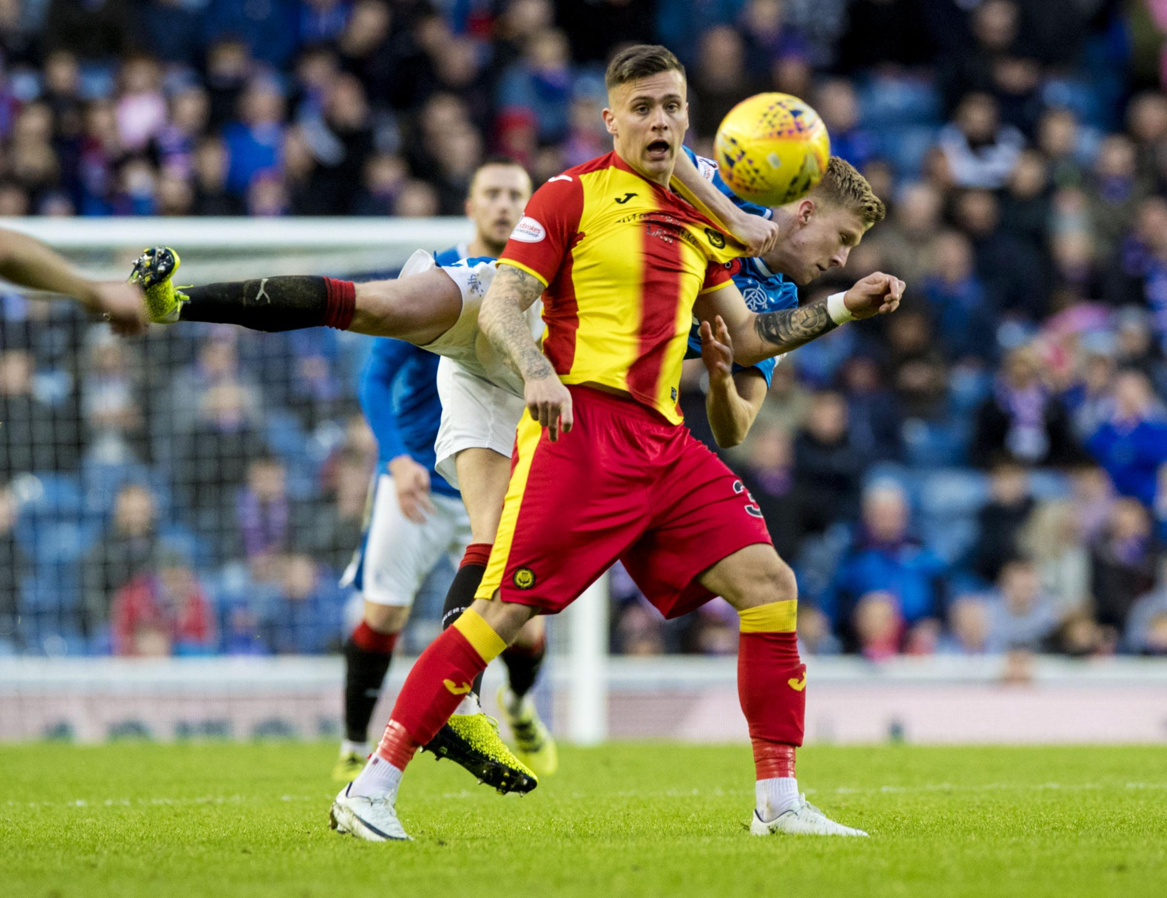 Miles Storey has been in good form over the last few games for Partick Thistle