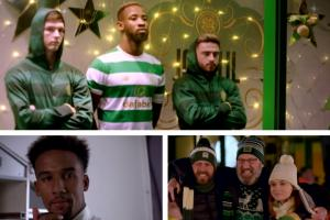 Celtic release heartwarming short Christmas film with some very famous faces