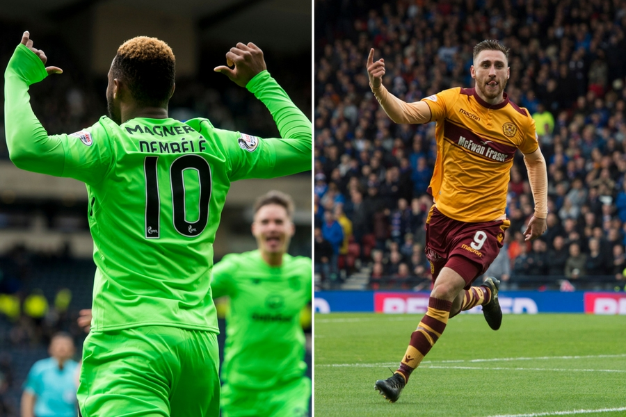 Celtic face Motherwell in today's final