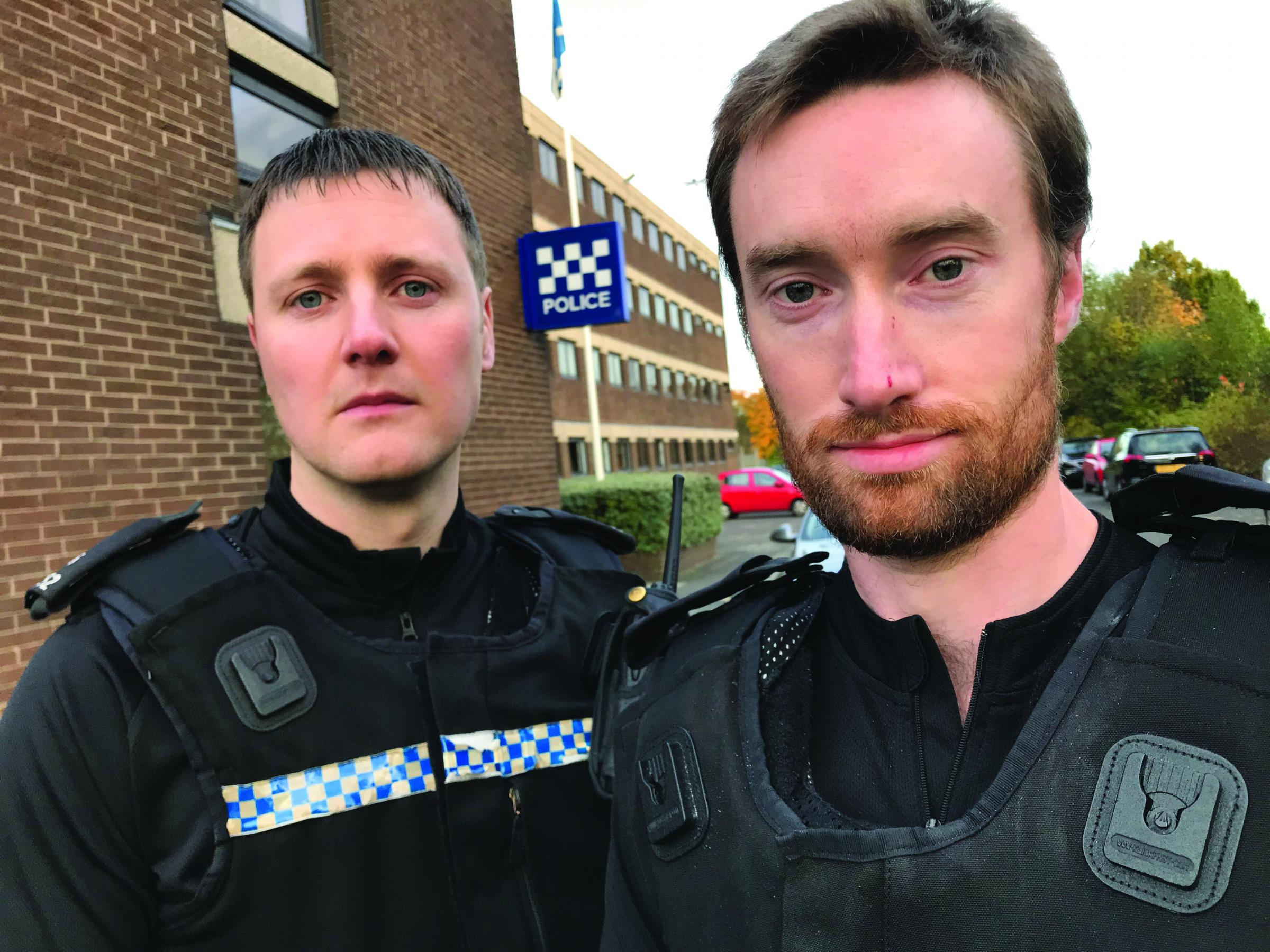 PC Daniel White and Alexander McCullough