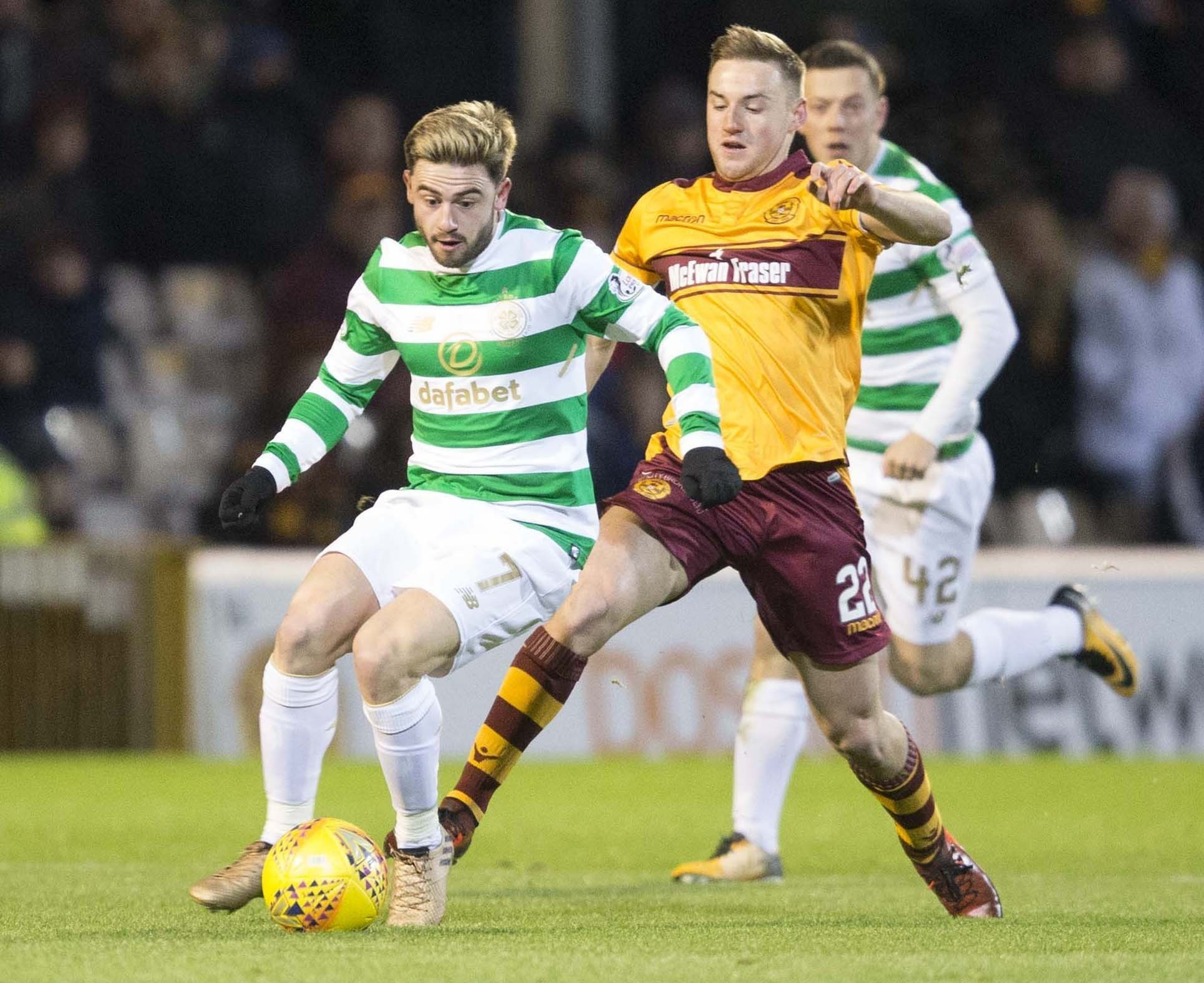 Allan Campbell says that Motherwell are ready to get stuck into Celtic again this afternoon.