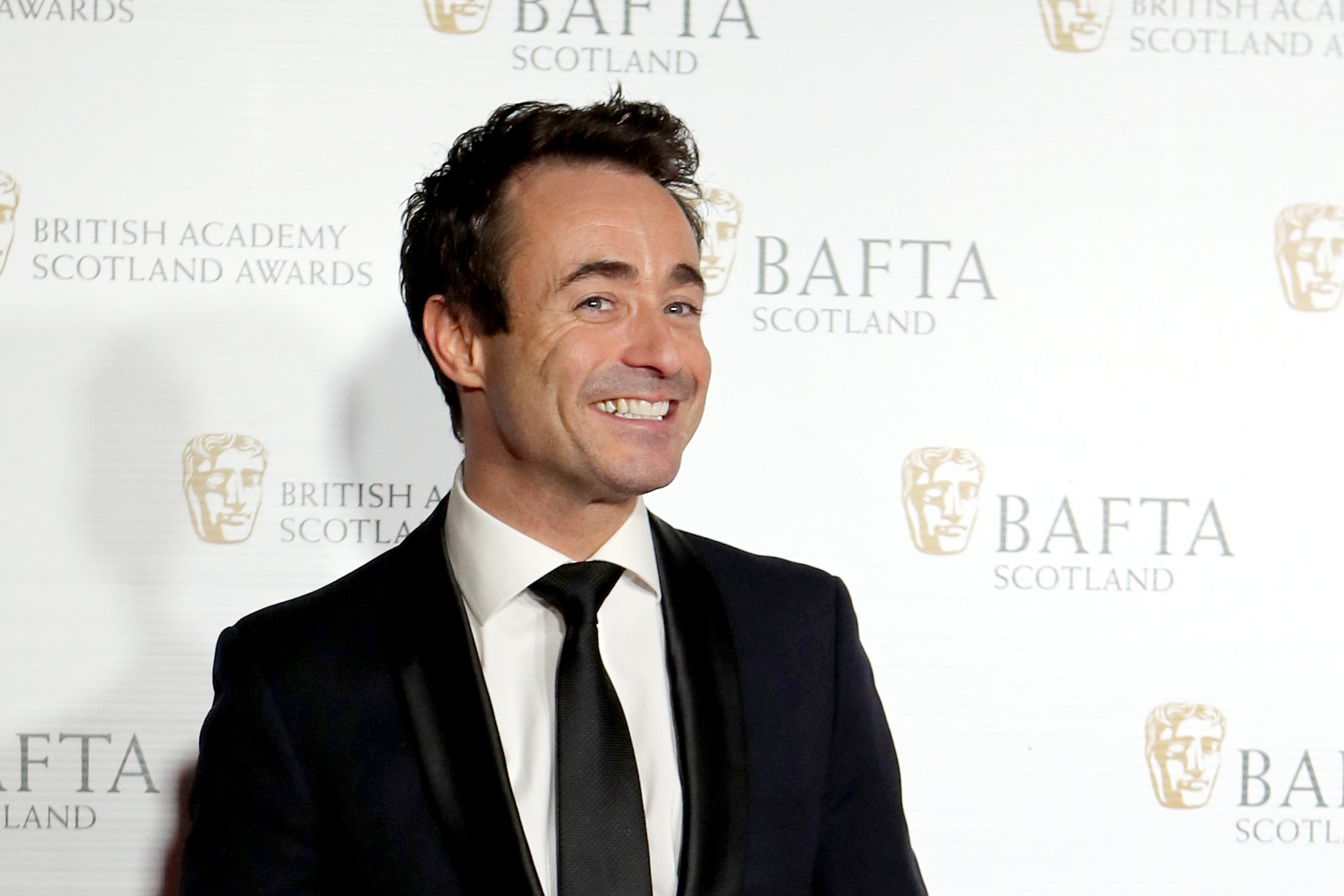 Joe McFadden arriving for the British Academy of Film and Television Arts in Scotland (BAFTA Scotland) Awards at the Radisson Blu Hotel in Glasgow (PA)