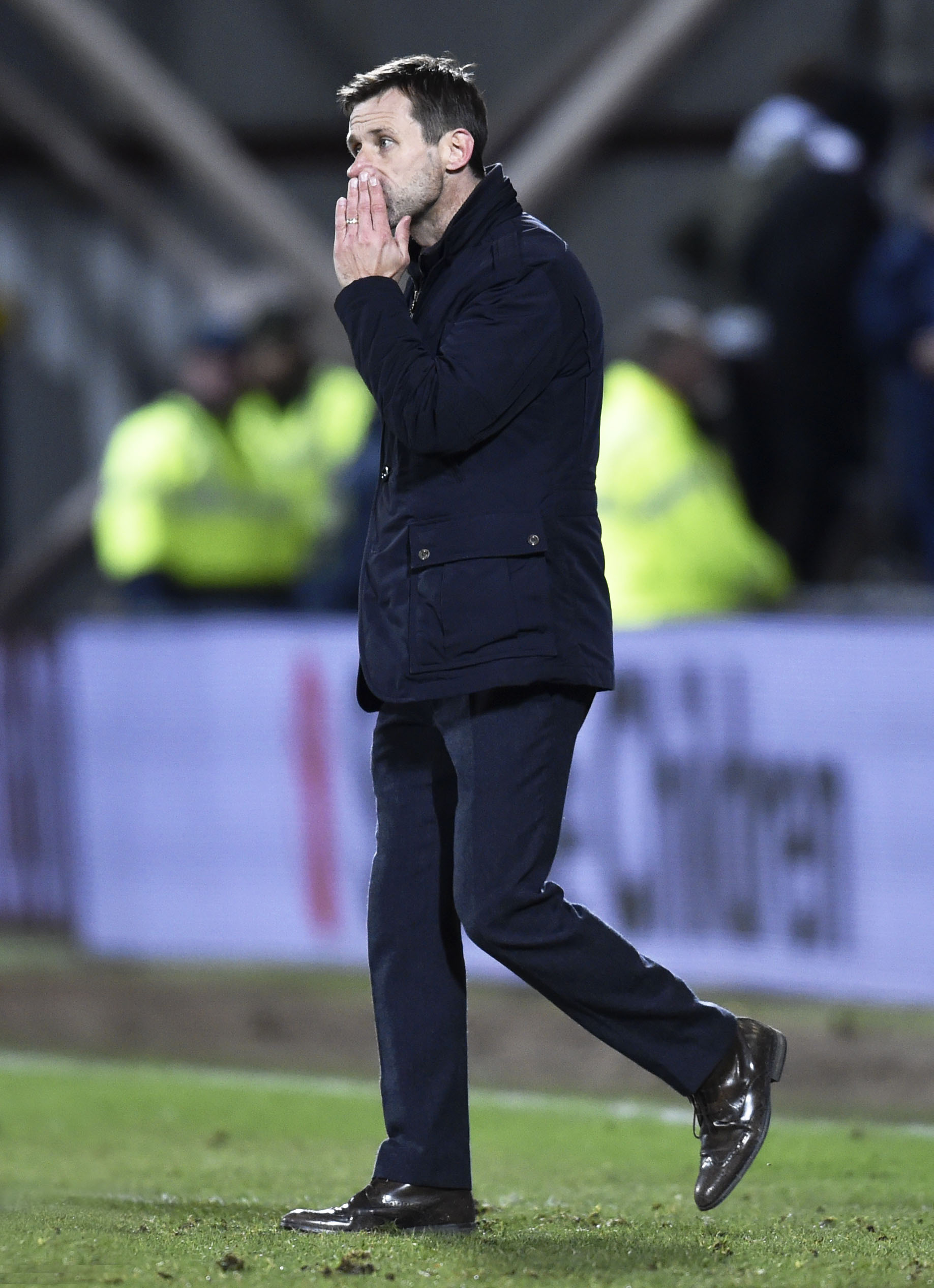 Dundee manager Neil McCann was an angry man after his side lost to Hearts