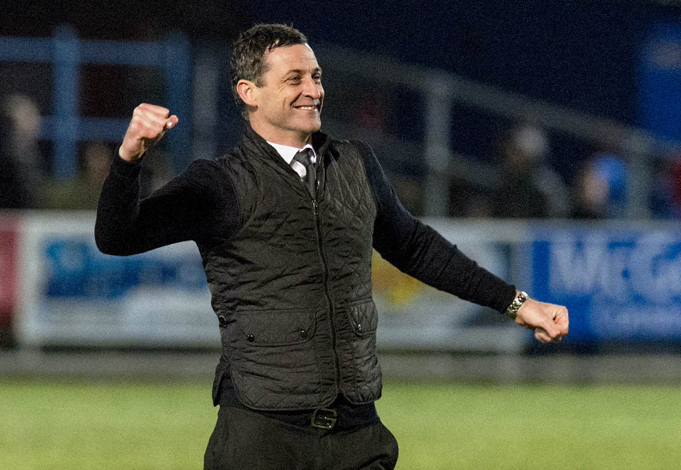St Mirren manager Jack Ross has had a year to remember