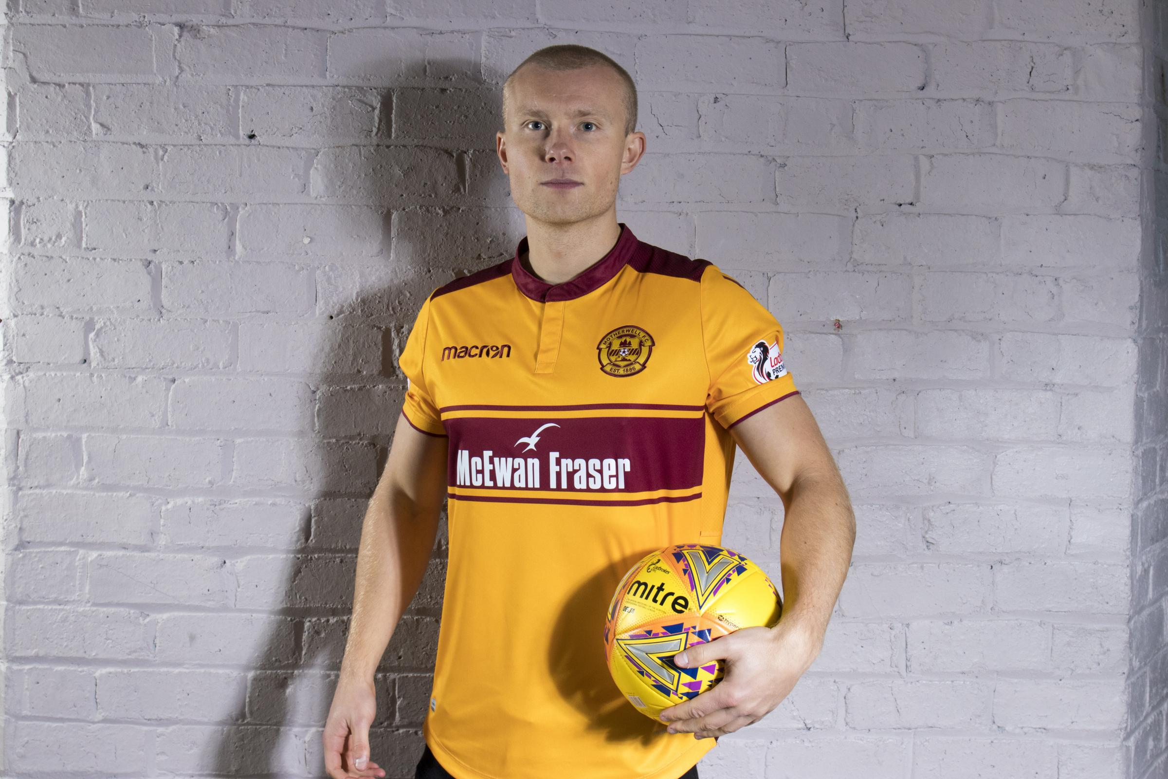 Curtis Main is looking forward to a fresh challenge with Motherwell.