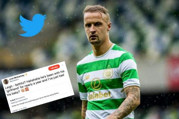 8fd4d23e9 Celtic player Leigh Griffiths' ex hits out at new love as she claims ...