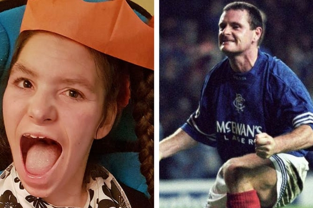 Target met as Rangers hero Gazza backs appeal for disabled teen whose talking aid was stolen