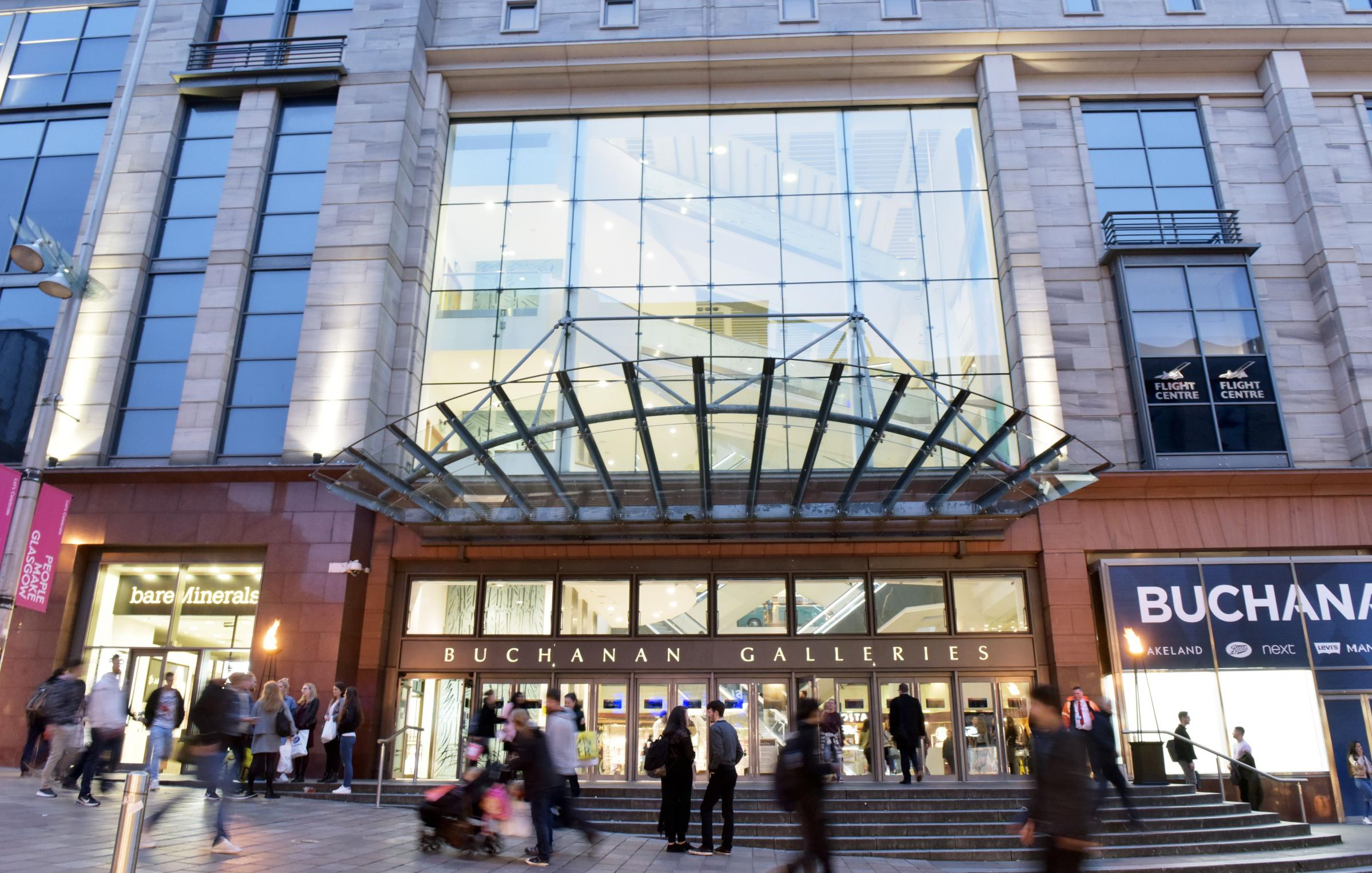 Glasgow shopping centre to give out freebies to cheer people up on Blue Monday