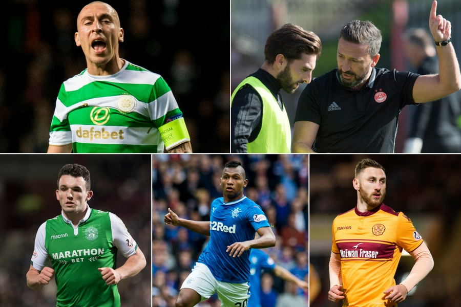 It has been an eventful season so far in the Scottish Premiership