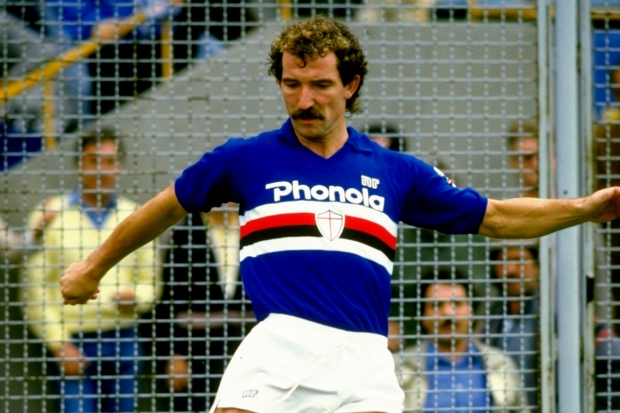Graeme Souness spent two seasons at Sampdoria where he helped them win their first major trophy