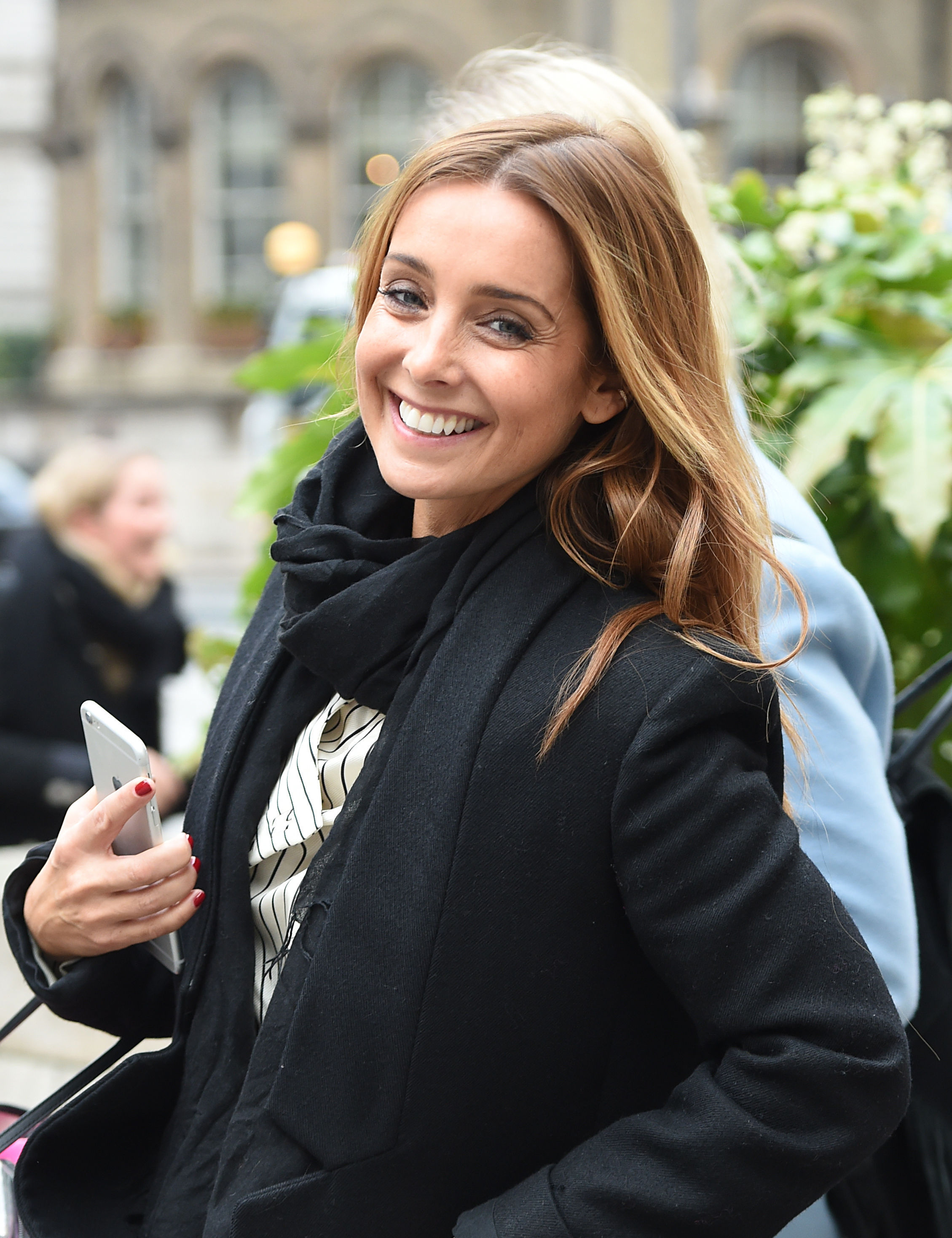 Strictly Come Dancing finalist Louise Redknapp leaves Broadcasting House, London, ahead of this weekend's final of the BBC's popular Saturday night TV show. PRESS ASSOCIATION Photo. Picture date: Thursday December 15, 2016. See PA story SHOWBIZ St