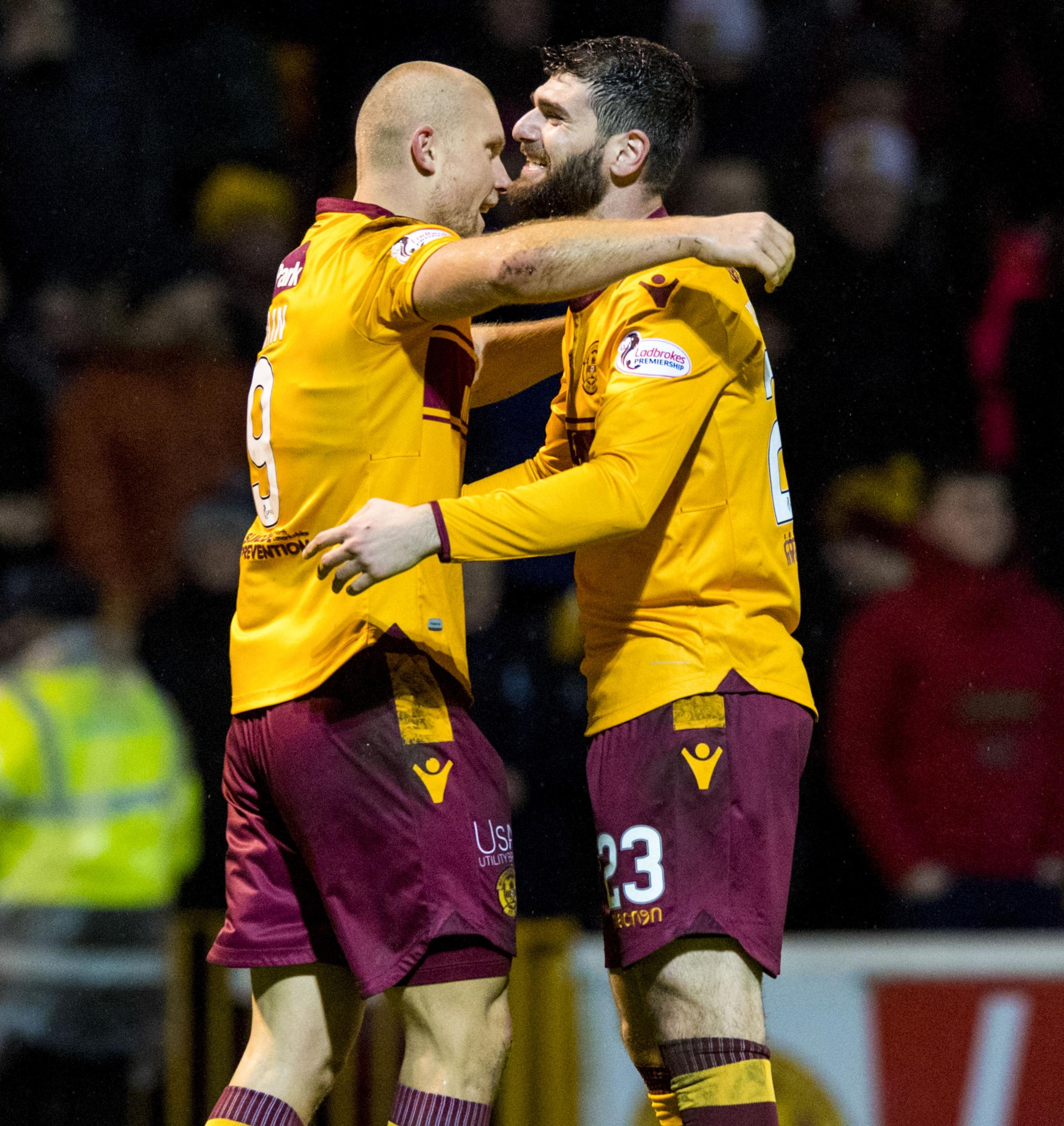 Curtis Main and Nadir Ciftci have struck up an instant rapport in attack for Motherwell.