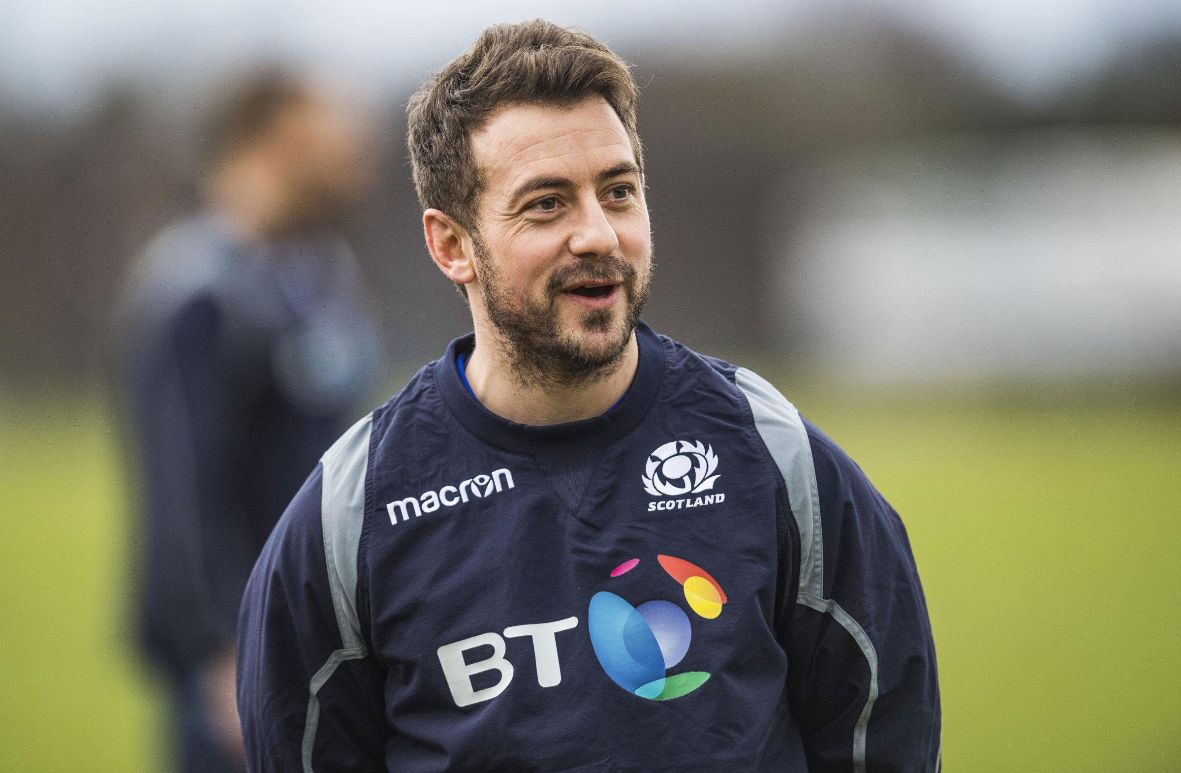 Laidlaw is back at scrum-half for Scotland
