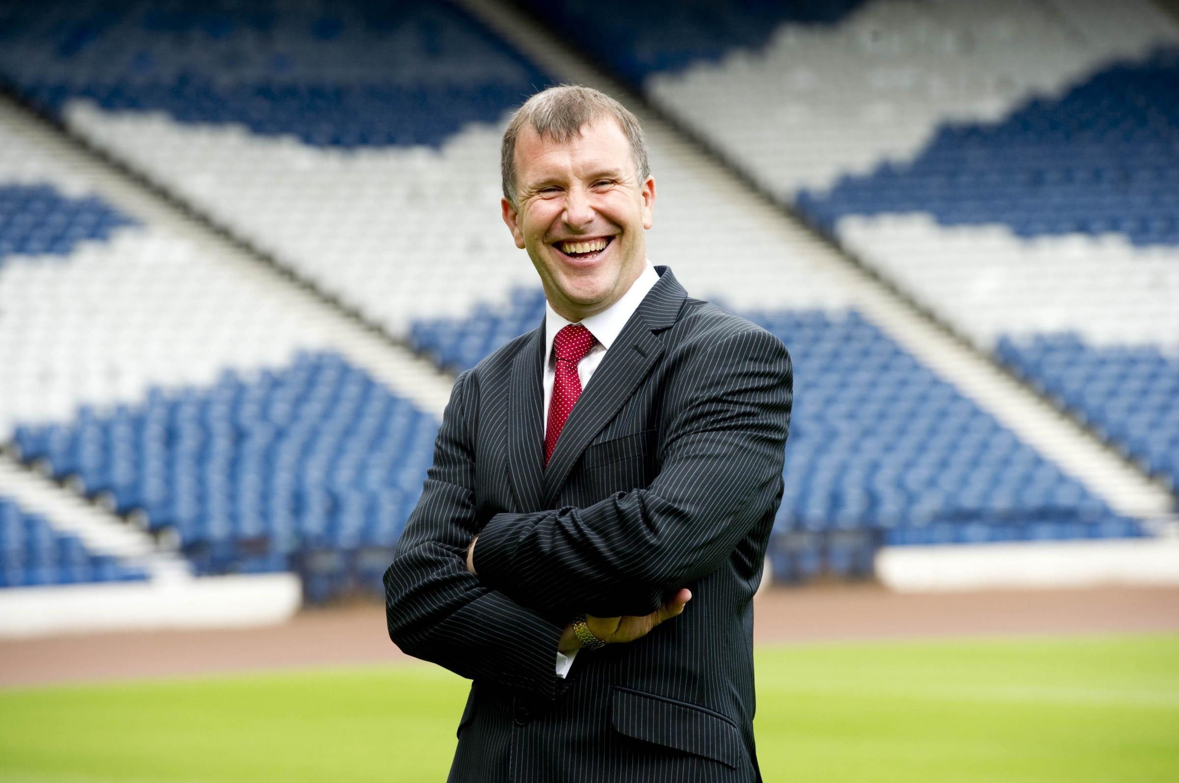 It was all smiles for Stewart Regan on his first day as SFA chief executive in 2010, but it was all downhill from there.