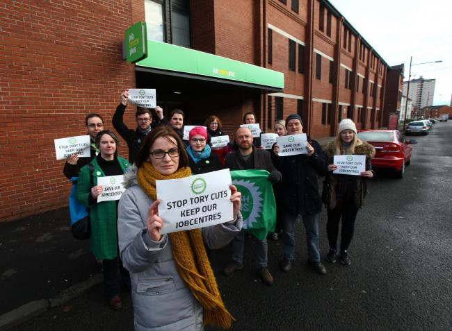 Betrayed: Fury as three weeks of East End Jobcentre closures begin