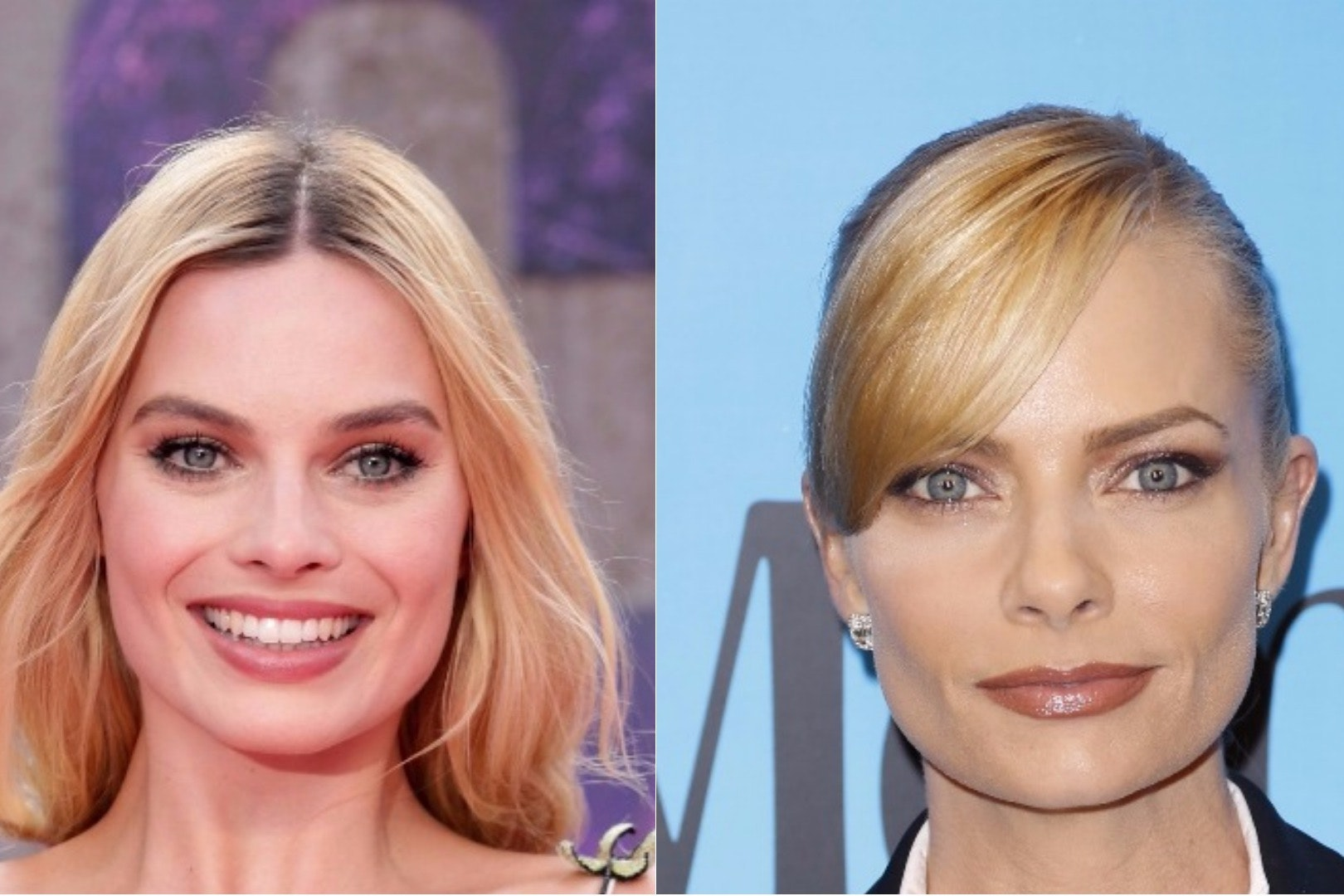 Composite of Margot Robbie and Jaime Pressly (Yui Mok/PA/Willy Sanjuan/AP)