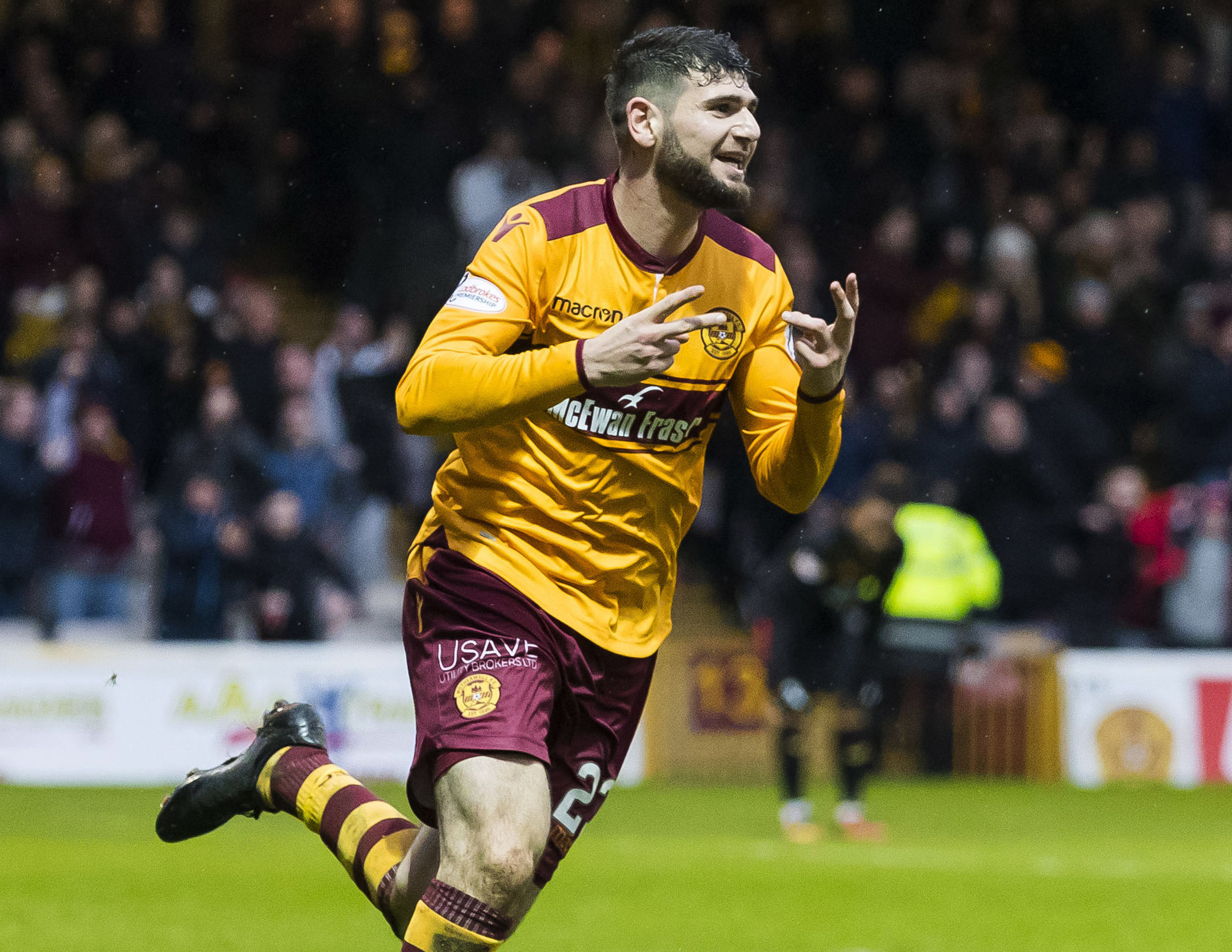 Nadir Ciftci went from the ridiculous to the sublime to earn Motherwell a point against Partick Thistle.