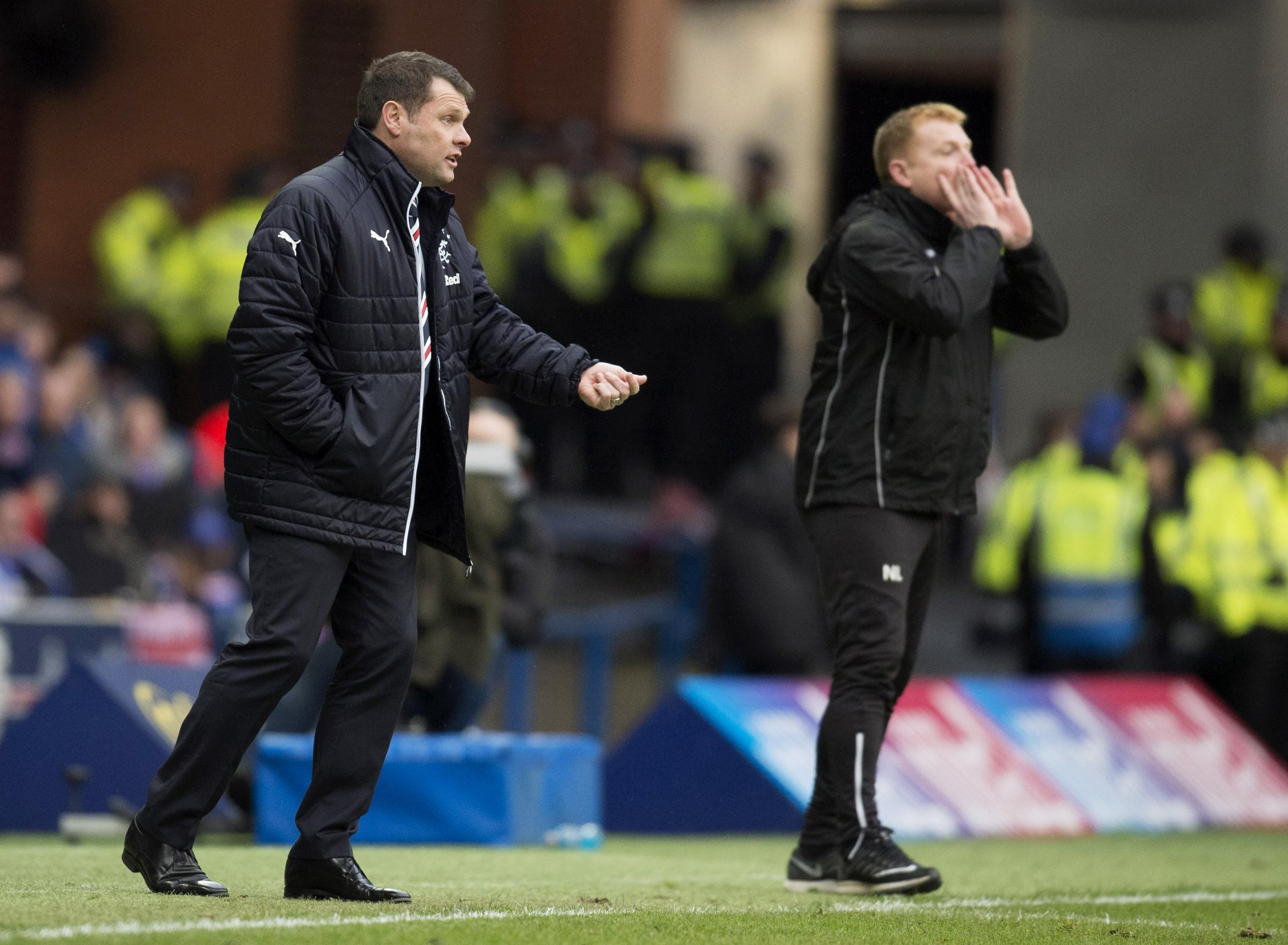 Rangers manager Graeme Murty says that Hibs boss Neil Lennon was impressed by his side in Saturday's game at Ibrox.