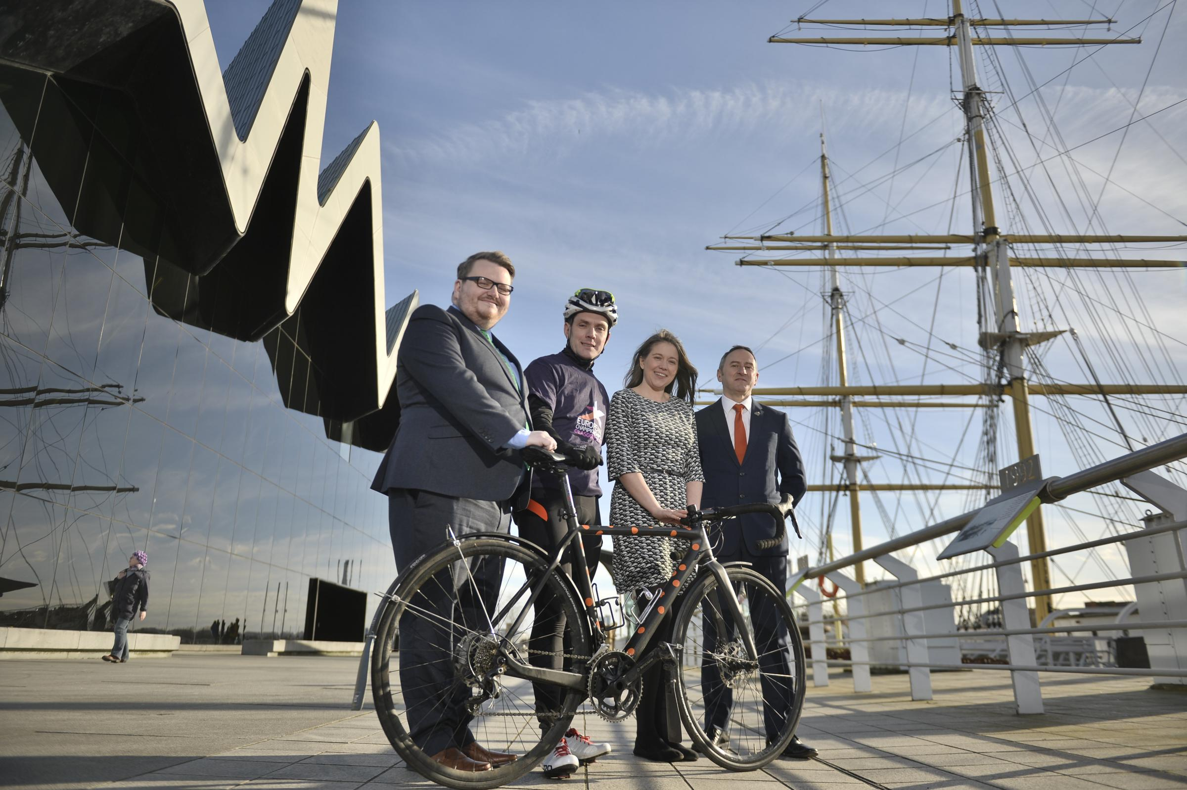 More than 300 of the continent's finest road cyclists will race through Glasgow, East Dunbartonshire and Stirling