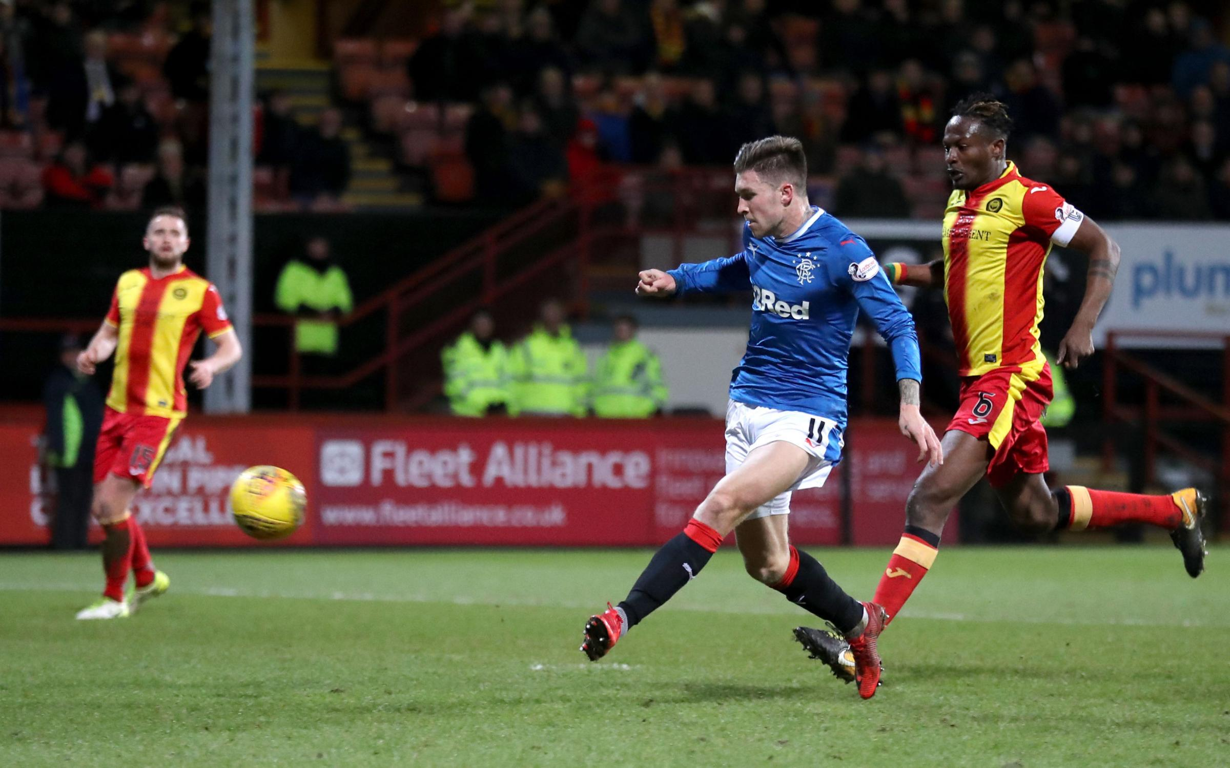 Josh Windass has his critics but he scored a good goal against Partick Thistle at Firhill