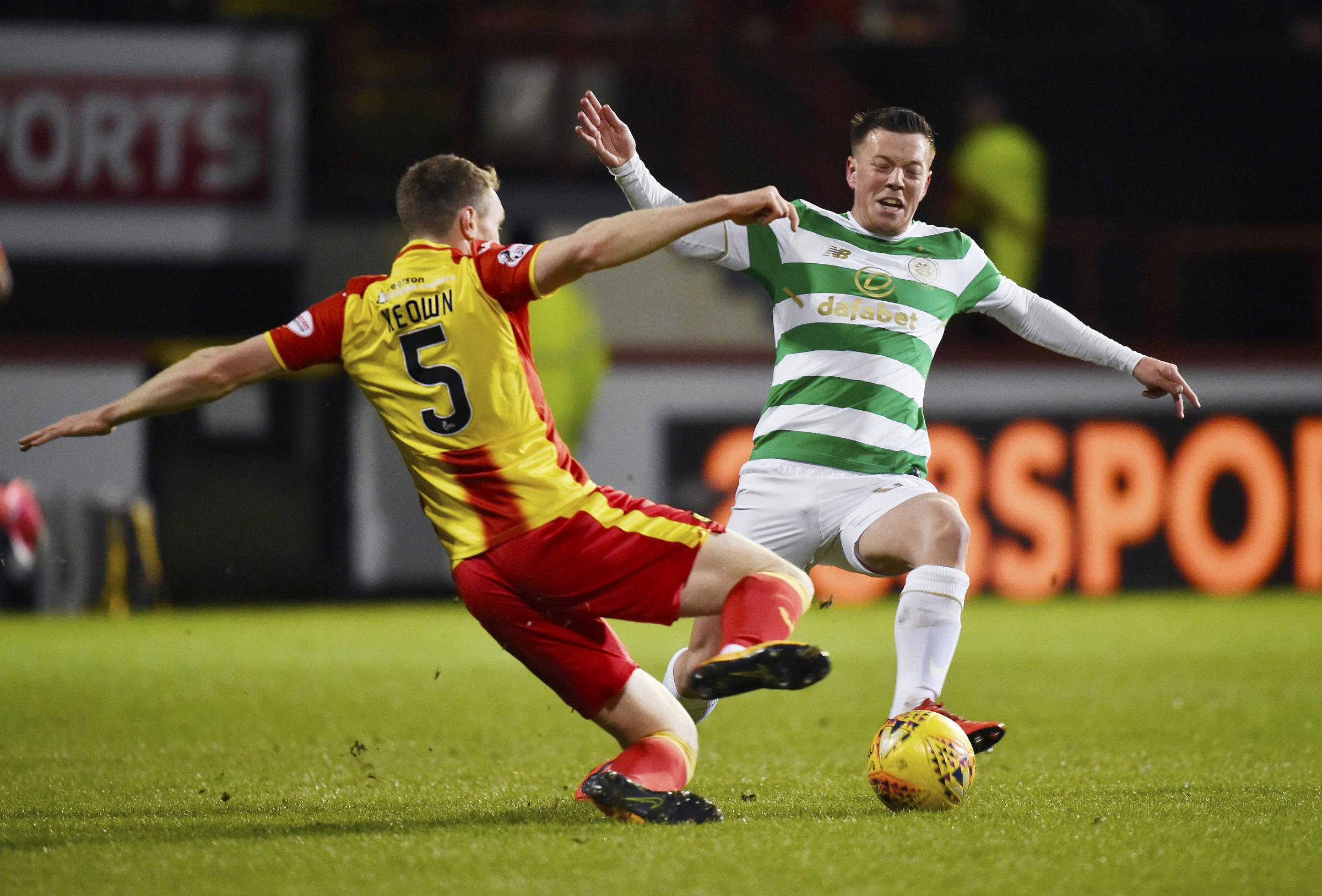 Celtic face Partick Thistle in the Scottish Cup on Saturday