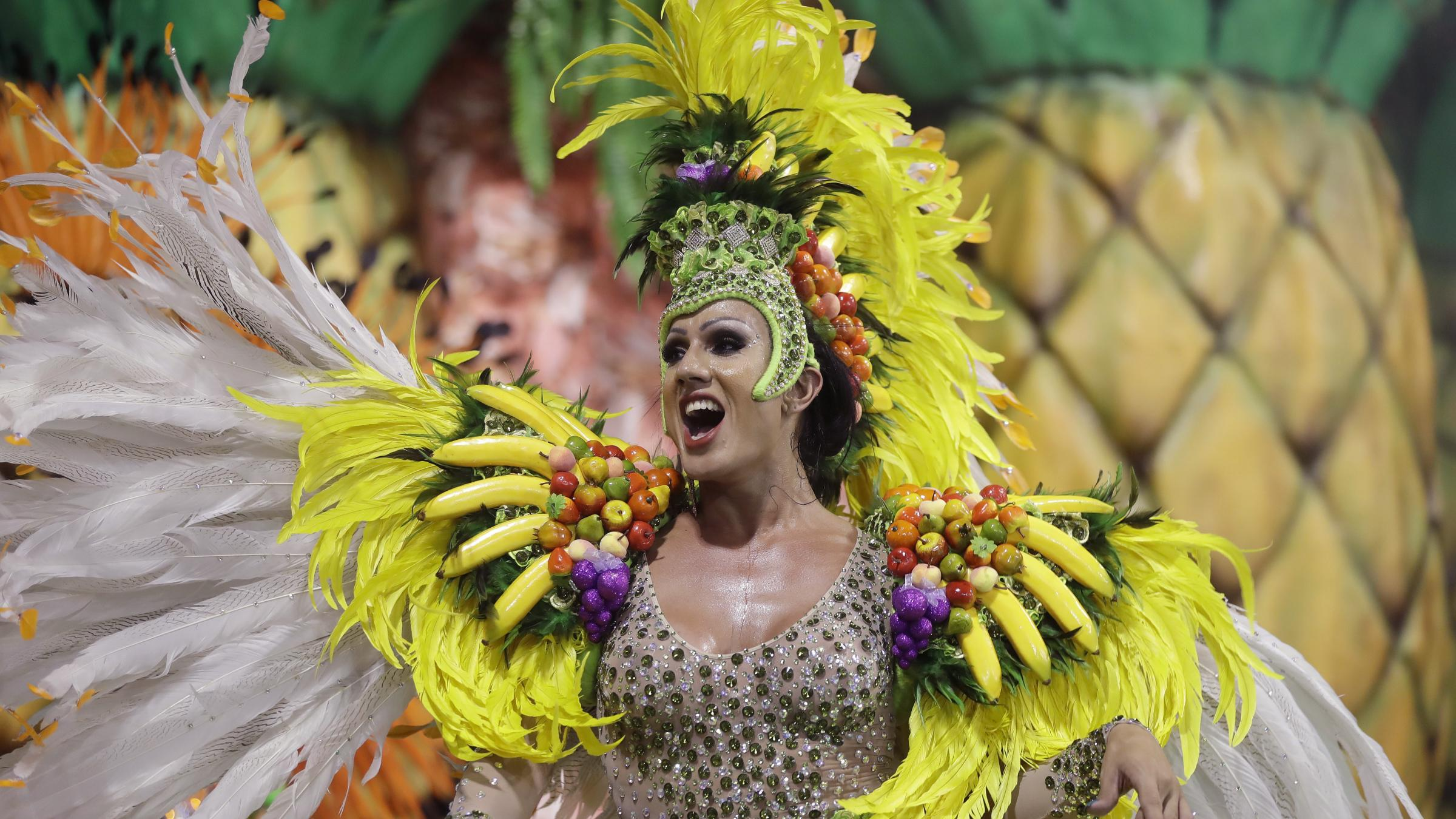 celebration of a carnival Brazil is known for its carnival, but there are other countries that are just as good at putting on a celebration.