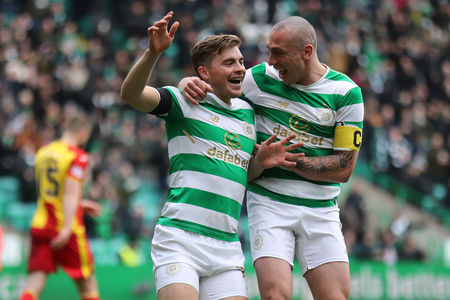 Champions elect Celtic have received the most nominations