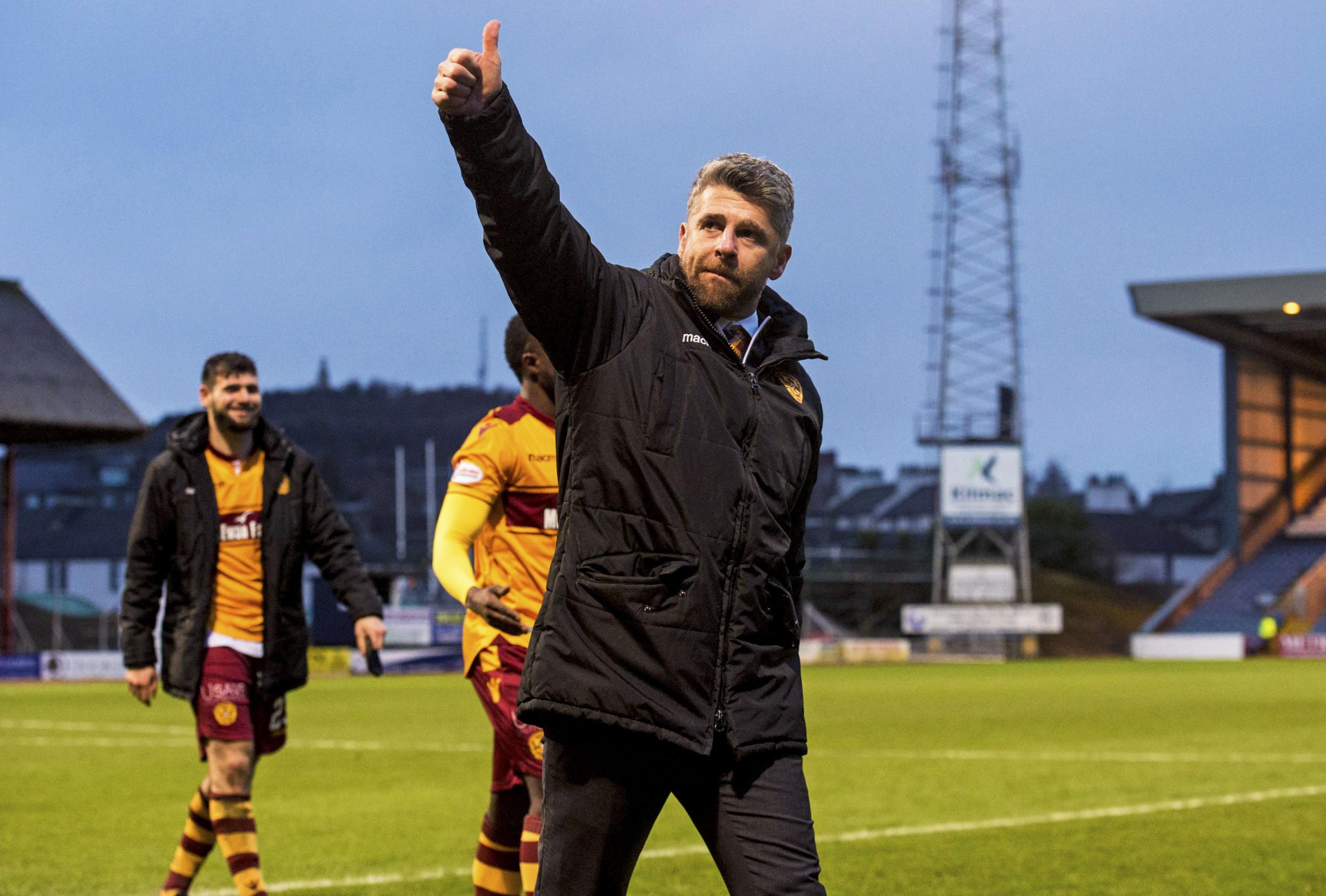 Stephen Robinson would be delighted if Motherwell could finish in the top half in his first full season in charge of the club.