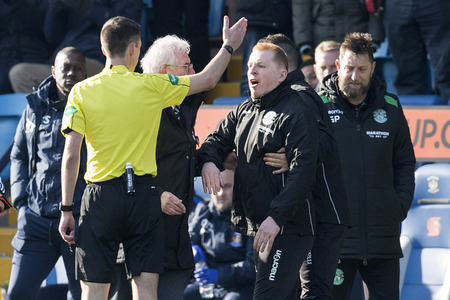 Lennon was left furious by the refereeing