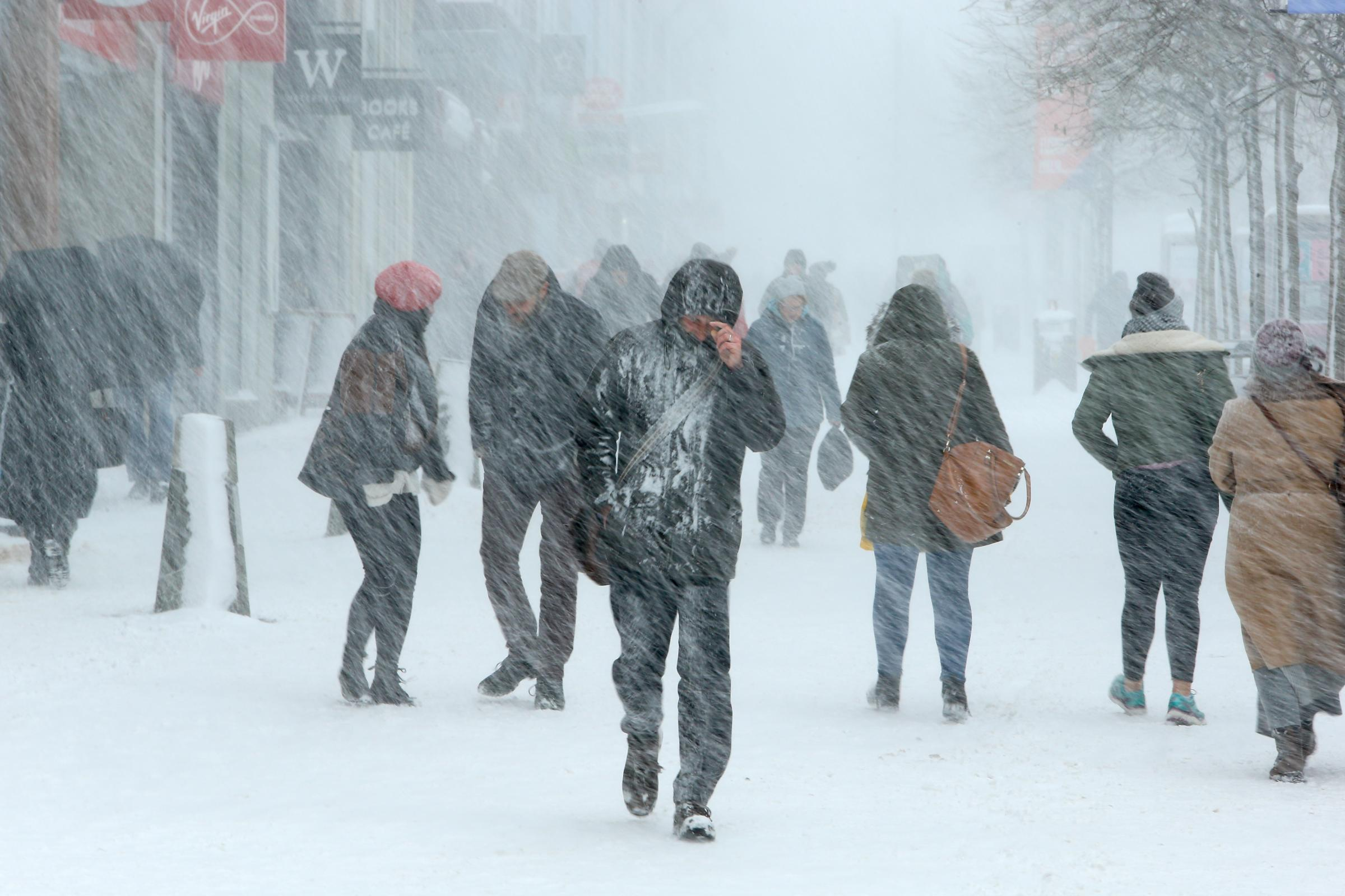 Temperature to plummet as winter arrives in Glasgow